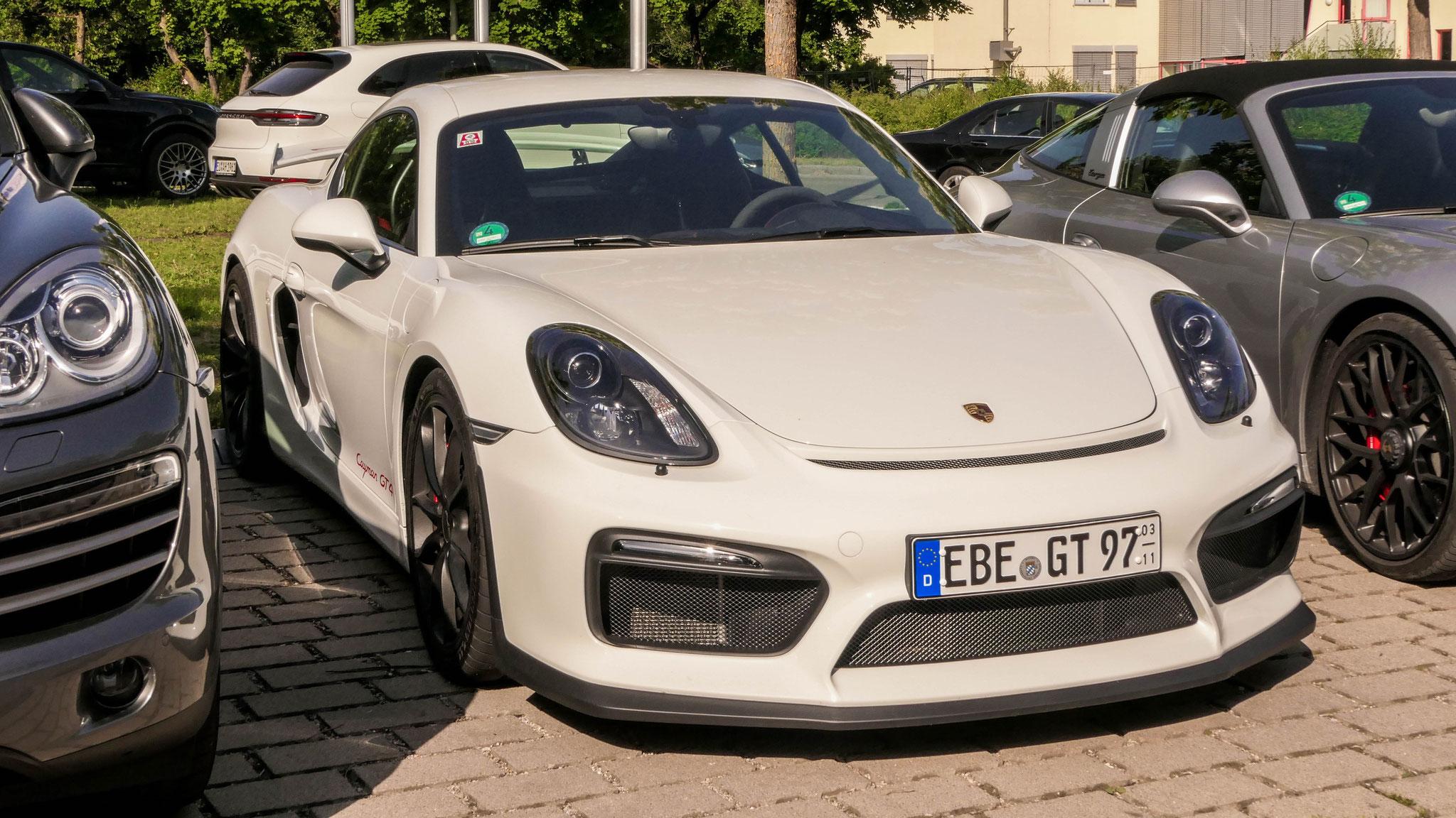 Porsche Cayman GT4 - EBE-GT-97