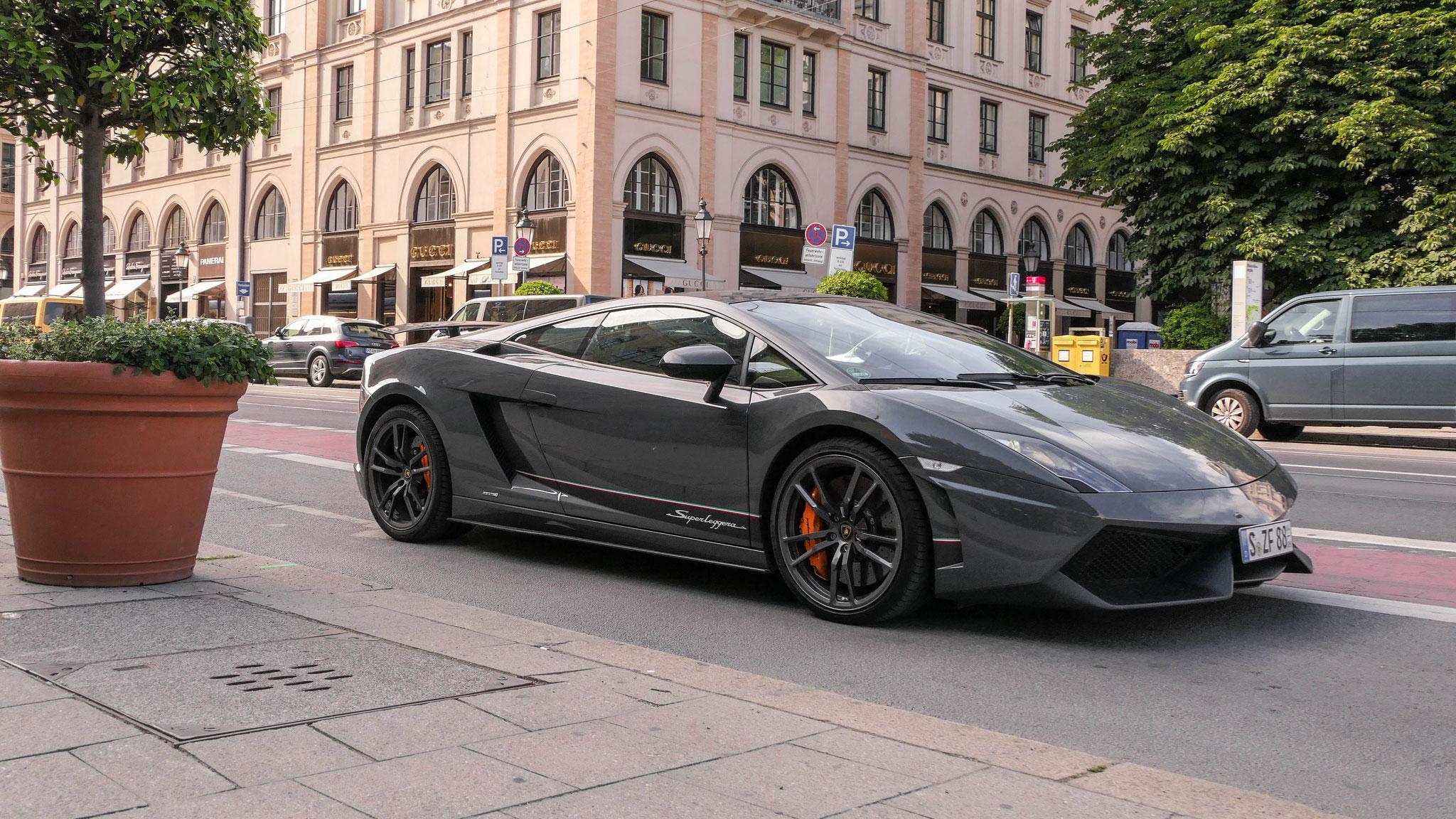 Lamborghini Gallardo Superleggera - S-ZF-88