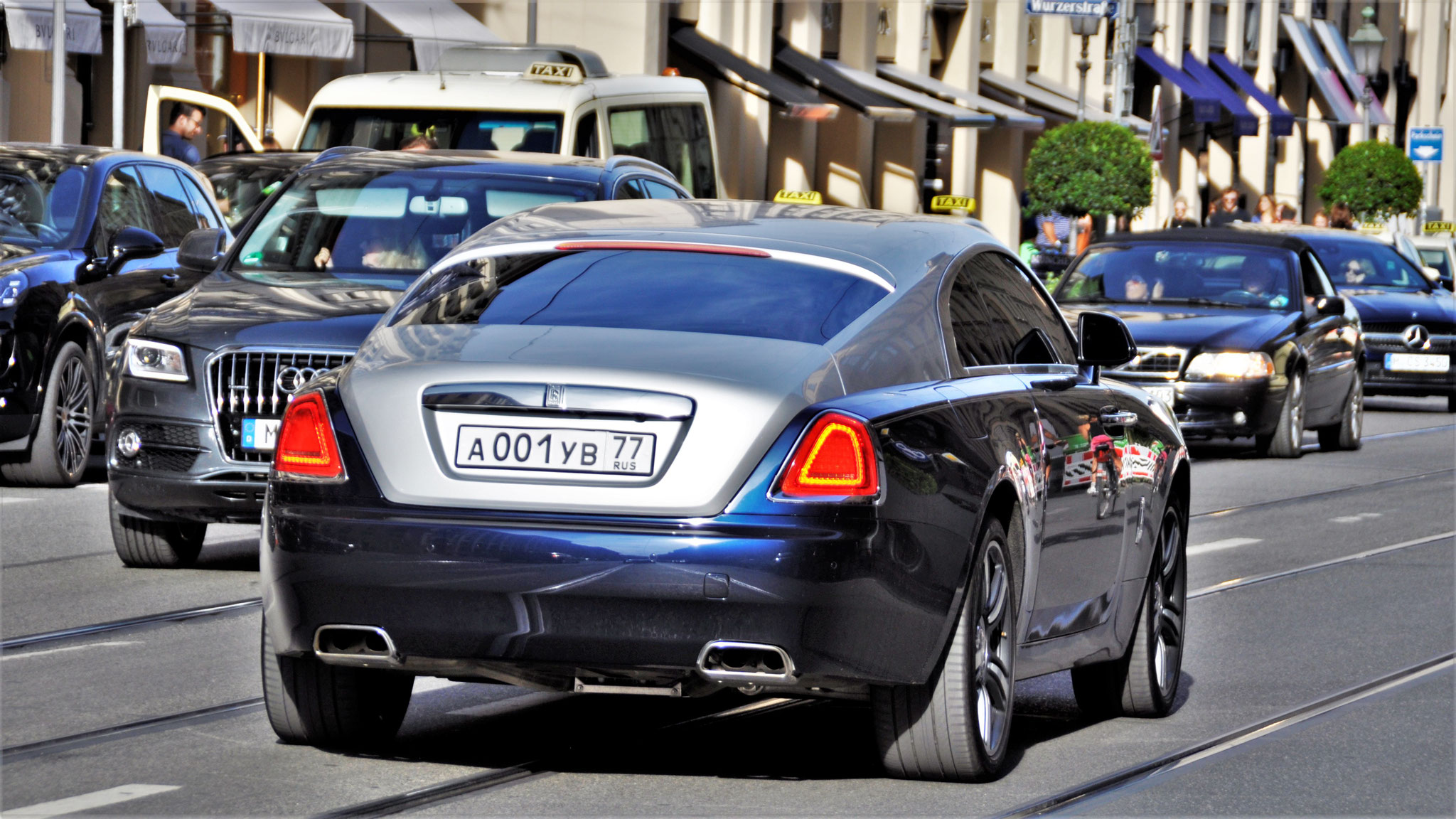 Rolls Royce Wraith - A-001-YB-77 (RUS)