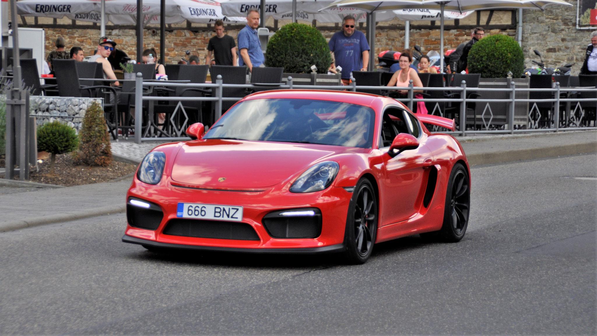 Porsche Cayman GT4 - 666-BNZ (EST)