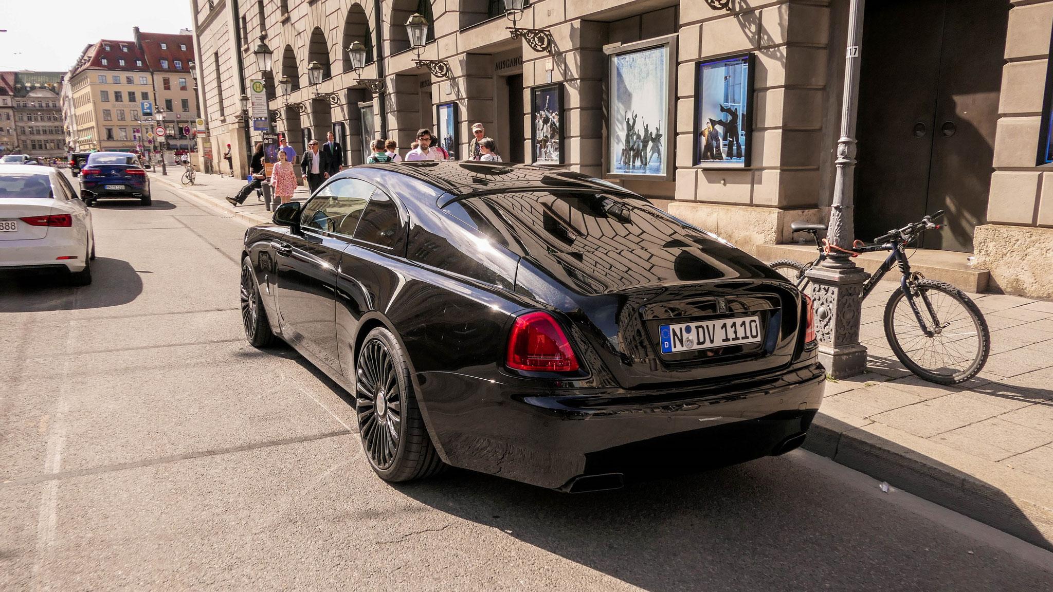 Rolls Royce Wraith - N-DV-1110