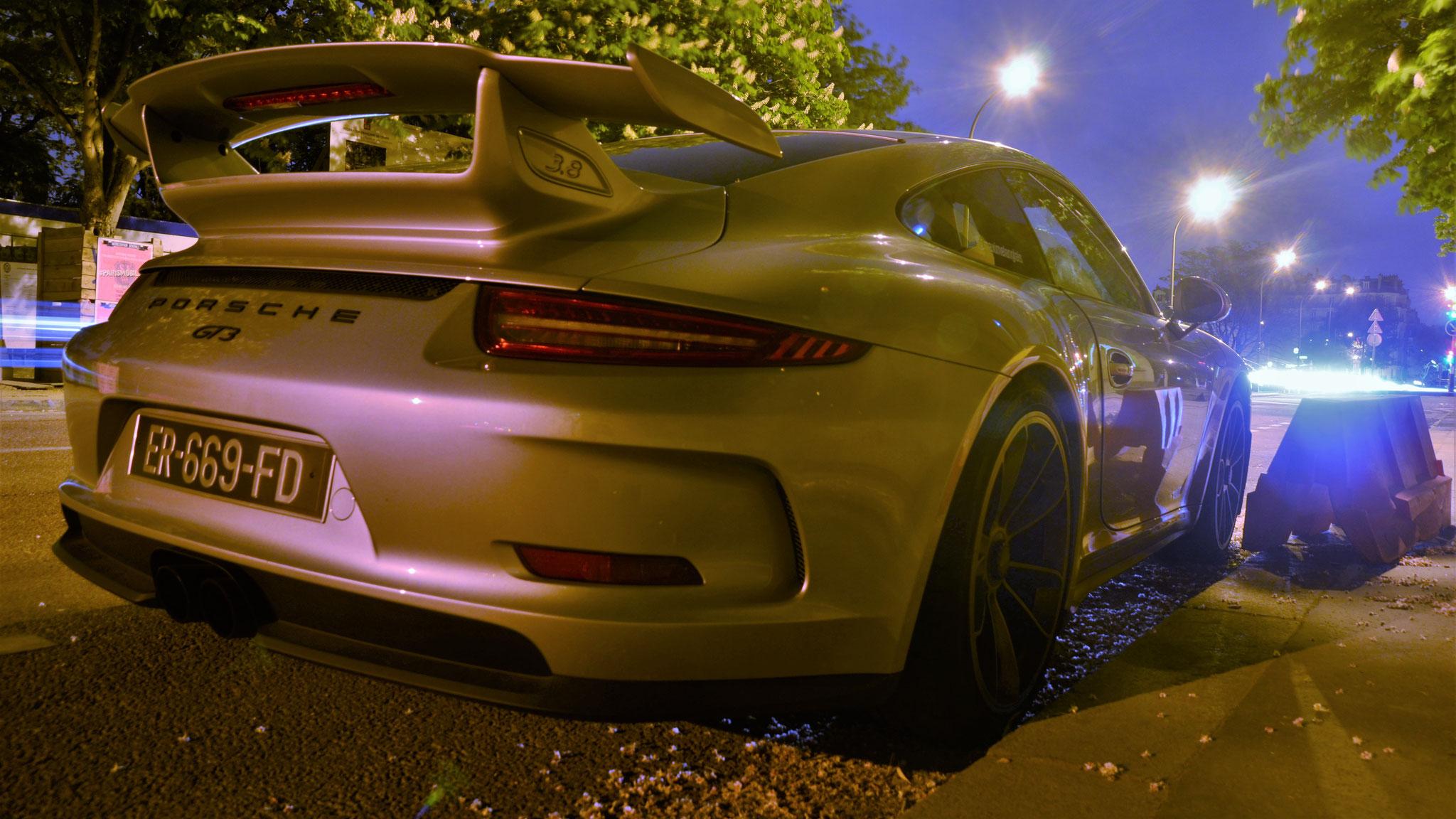 Porsche 991 GT3 - ER-669-FD (FRA)