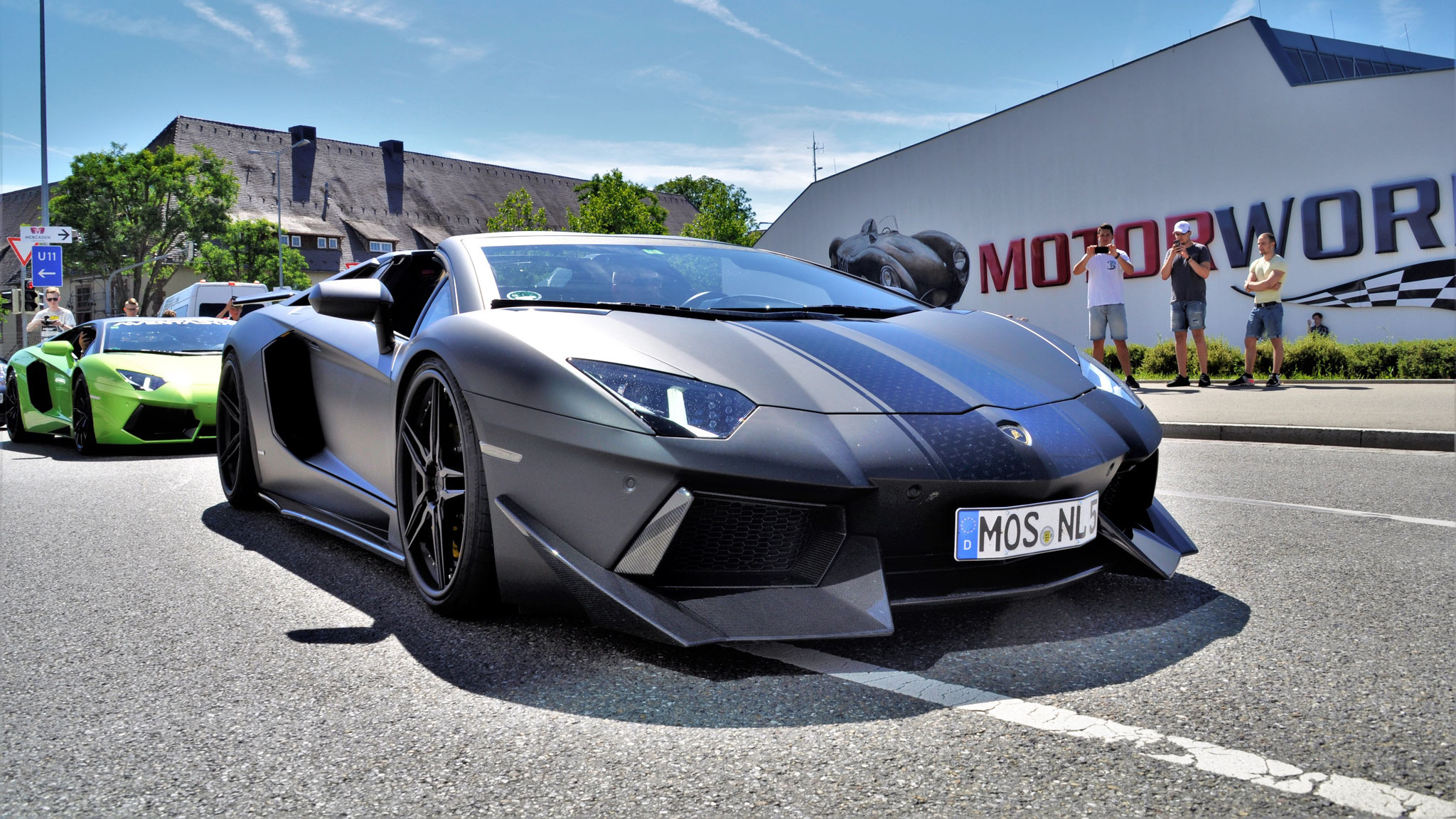 Lamborghini Aventador LP700-4 No Limit Custom - MOS-NL-5