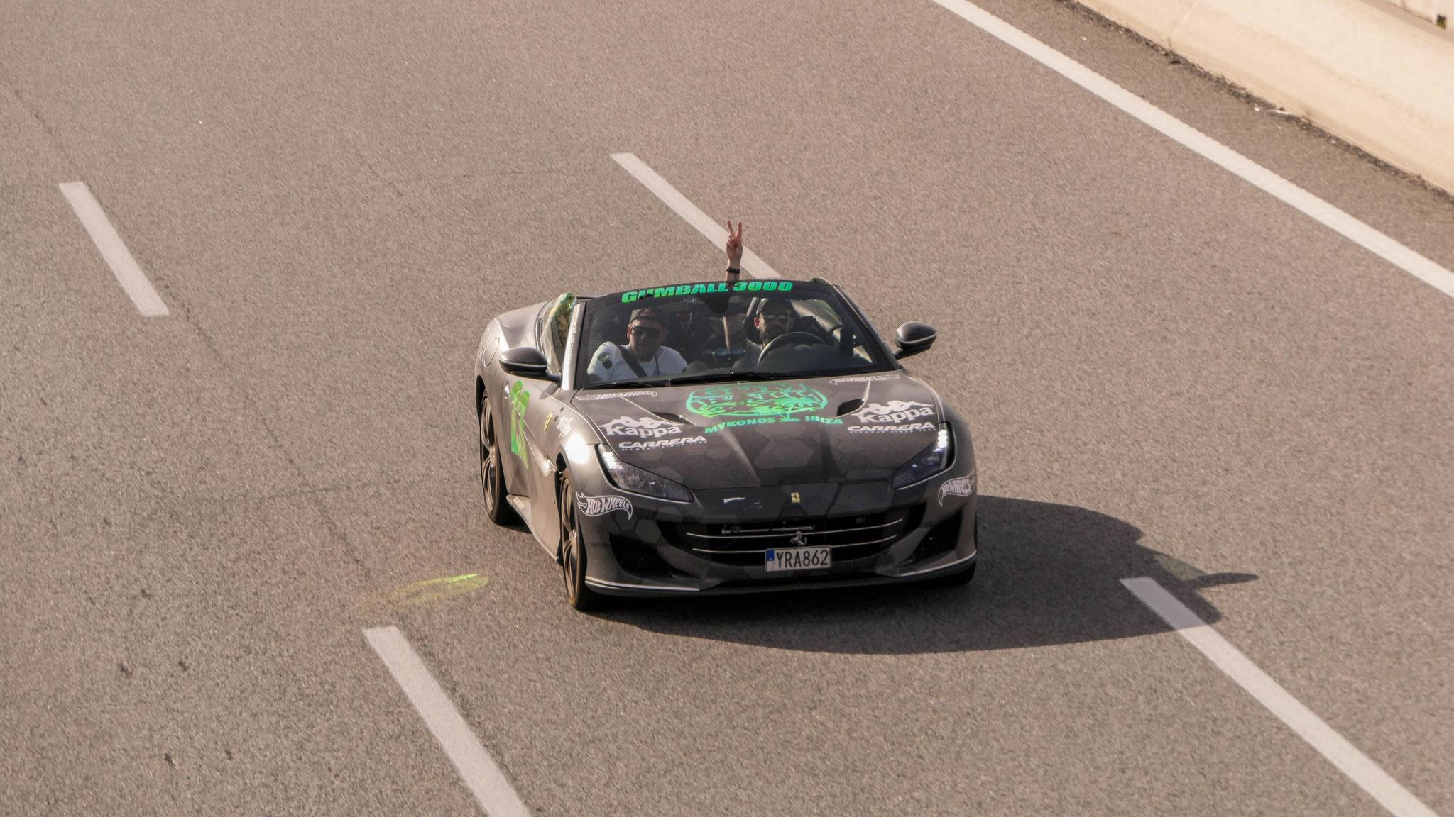 Ferrari Portofino - YRA-862 (SWE)