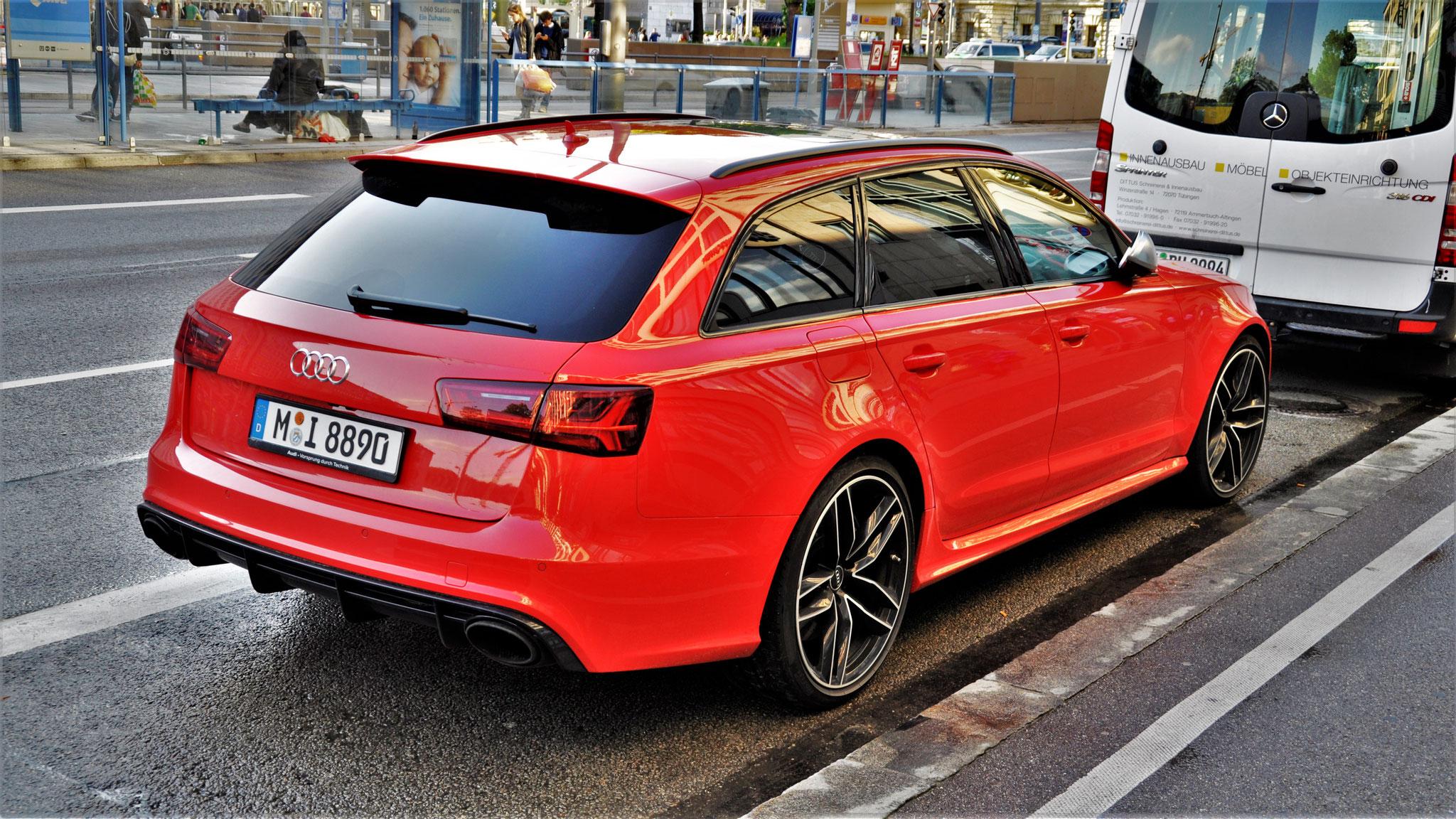 Audi RS6 - M-I-8890