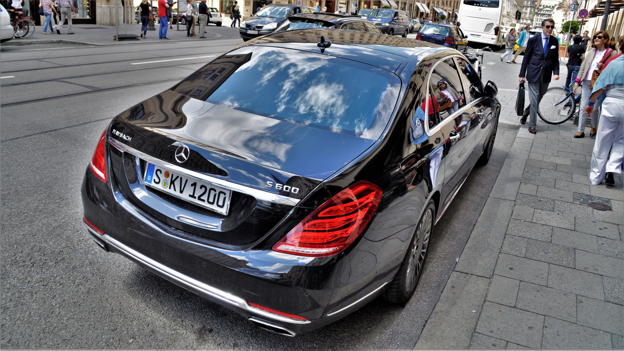 Mercedes Maybach S600 - S-KV-1200