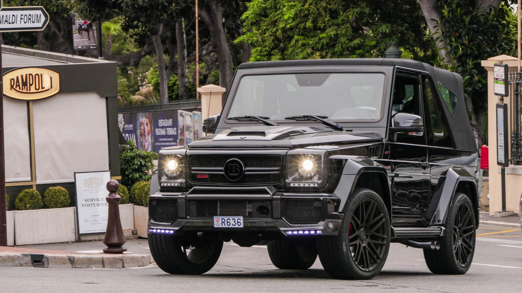 Brabus G Cabriolet - R636 (MC)