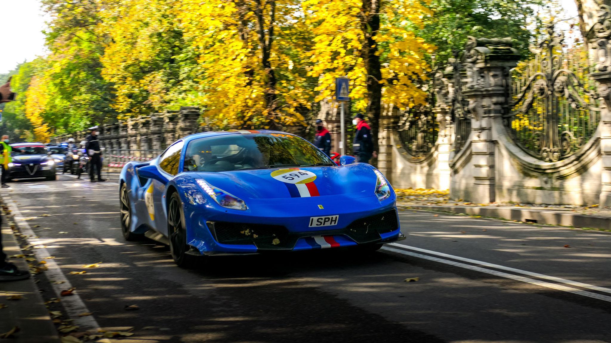 Ferrari 488 Pista - 1-SPH (GB)