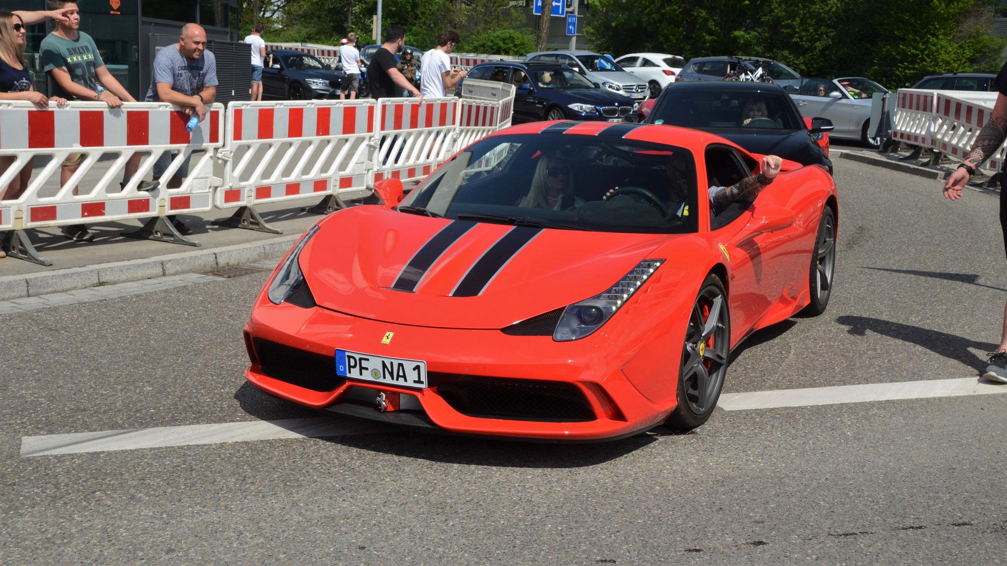 Ferrari 458 Speciale - PF-NA-1