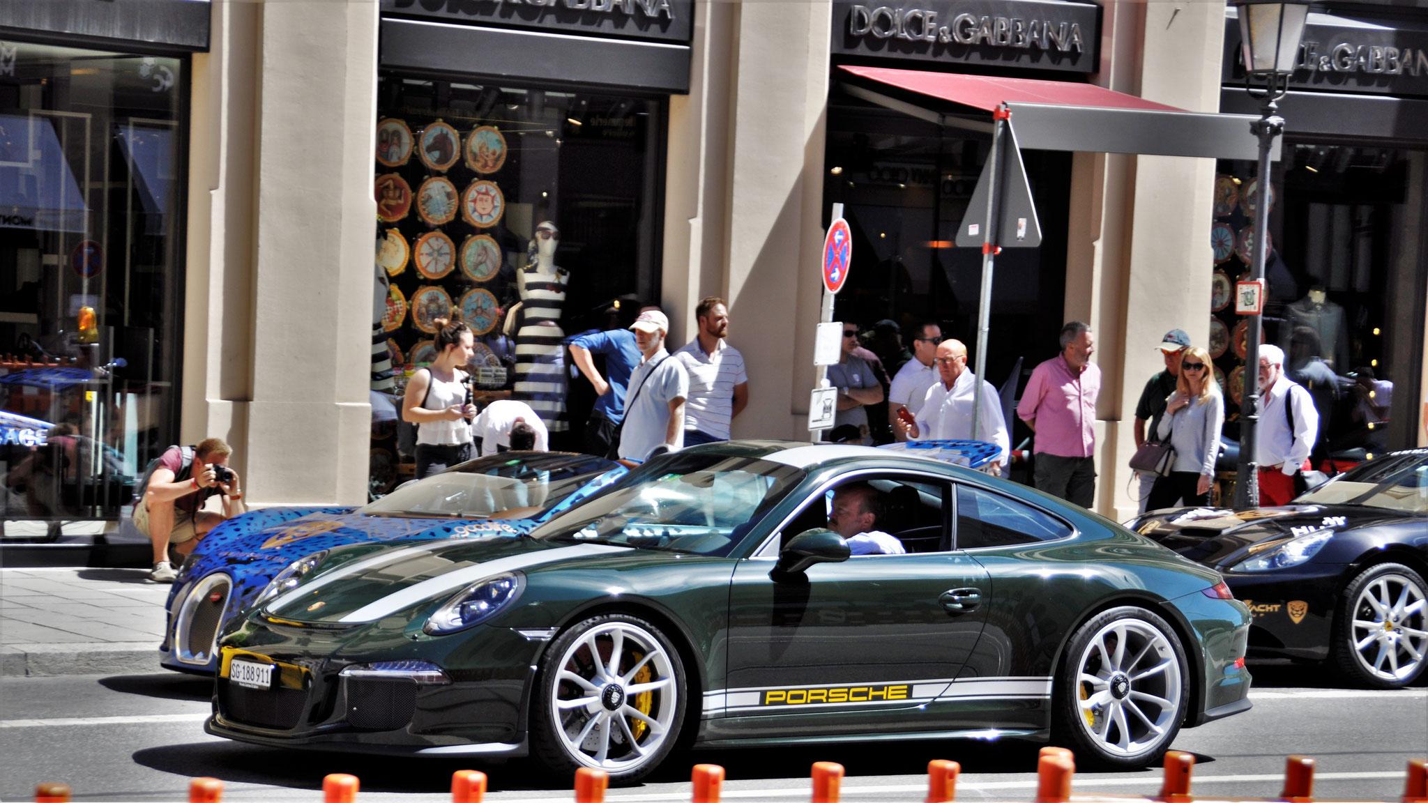 Porsche 911 R - SG-188911 (CH)