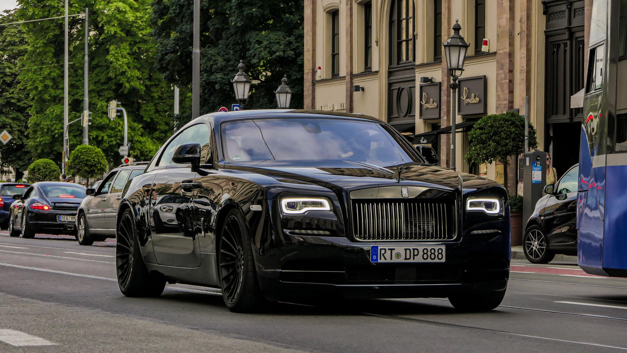 Rolls Royce Wraith - RT-DP-888