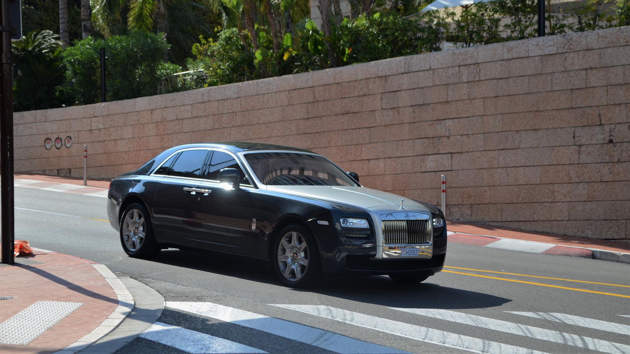 Rolls Royce Ghost - H092 (MC)