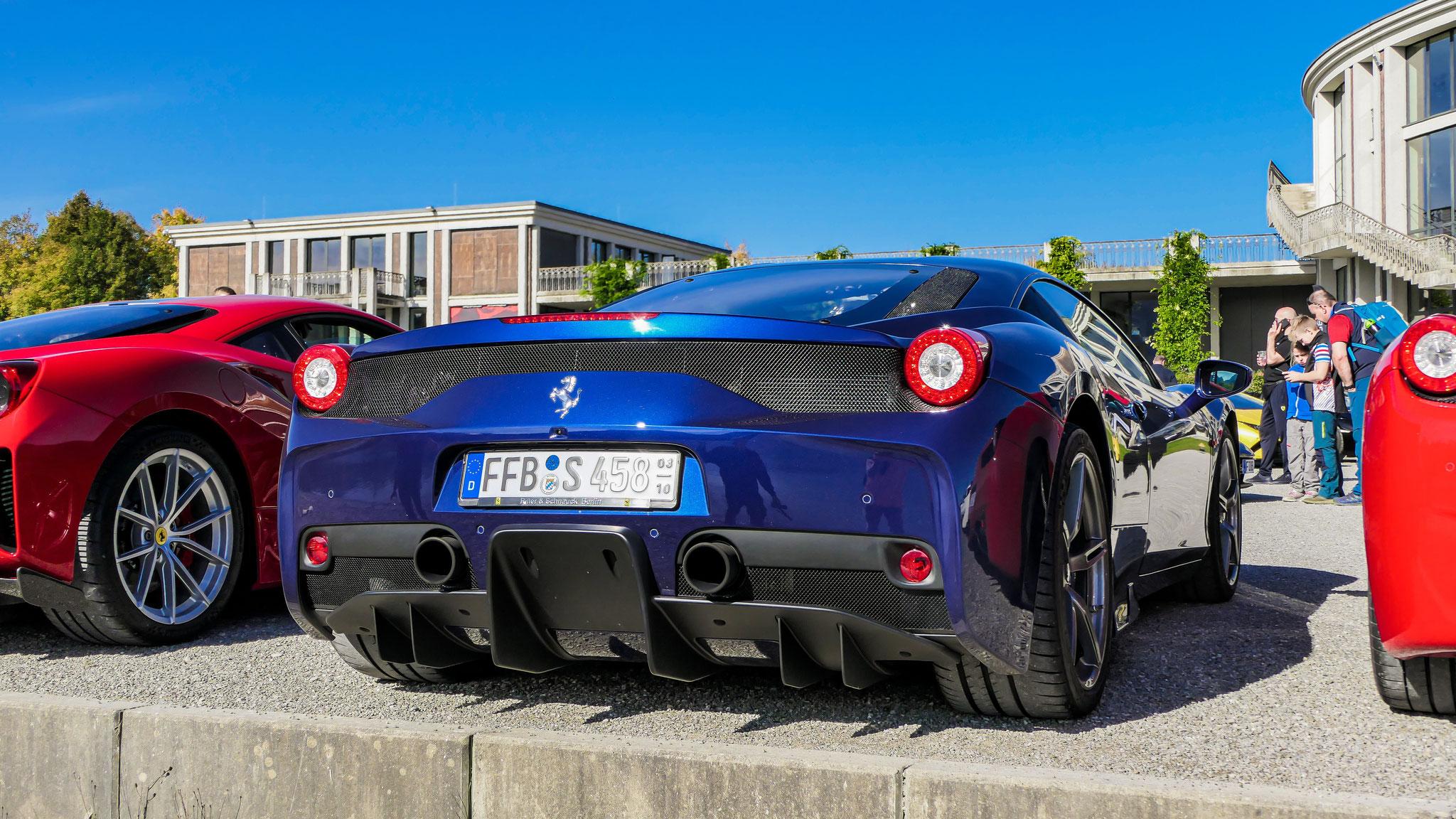 Ferrari 458 Speciale - FFB-S-458