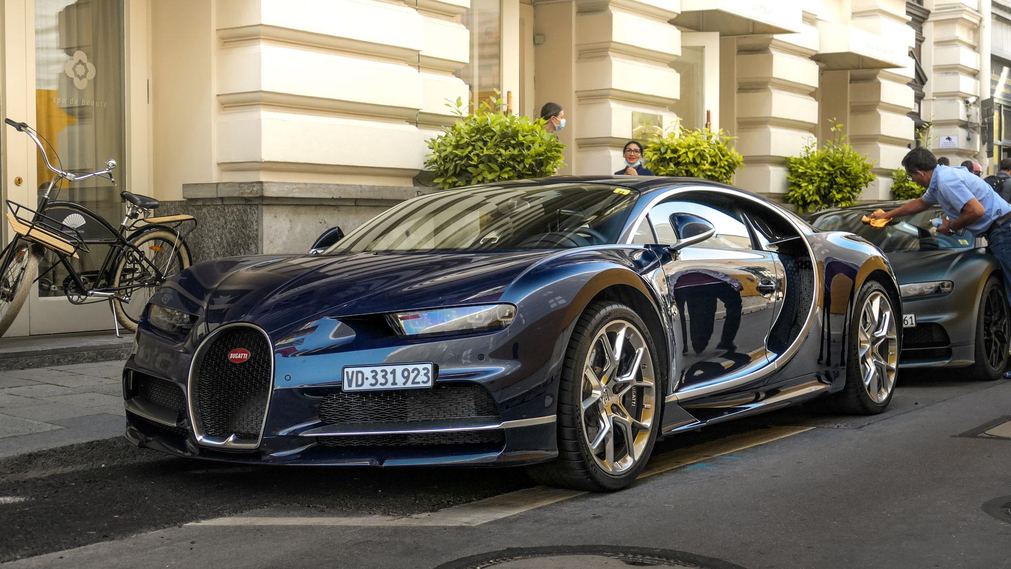 Bugatti Chiron - VD-331923 (CH)
