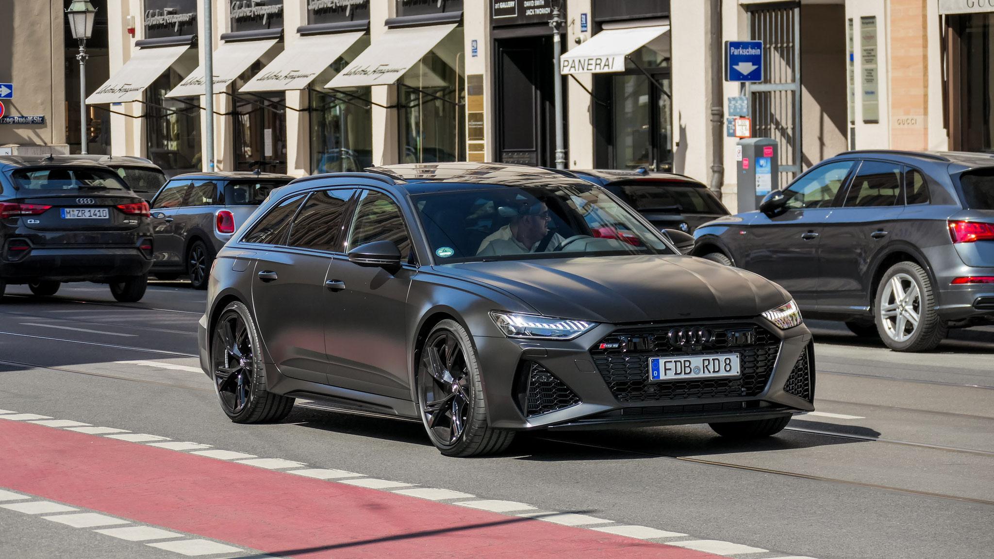 Audi RS6 - FDB-RD-8