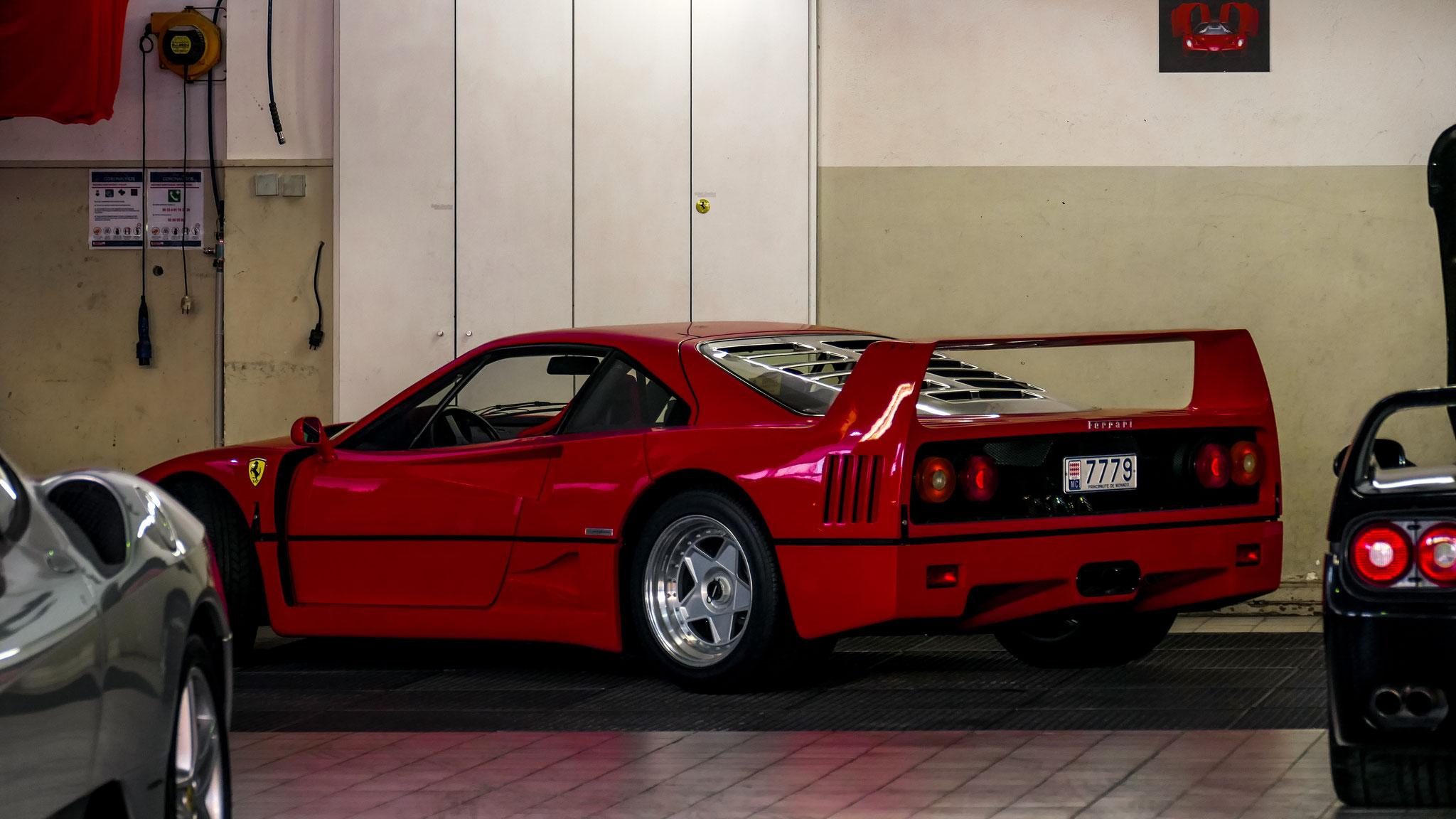Ferrari F40 - 7779 (MC)