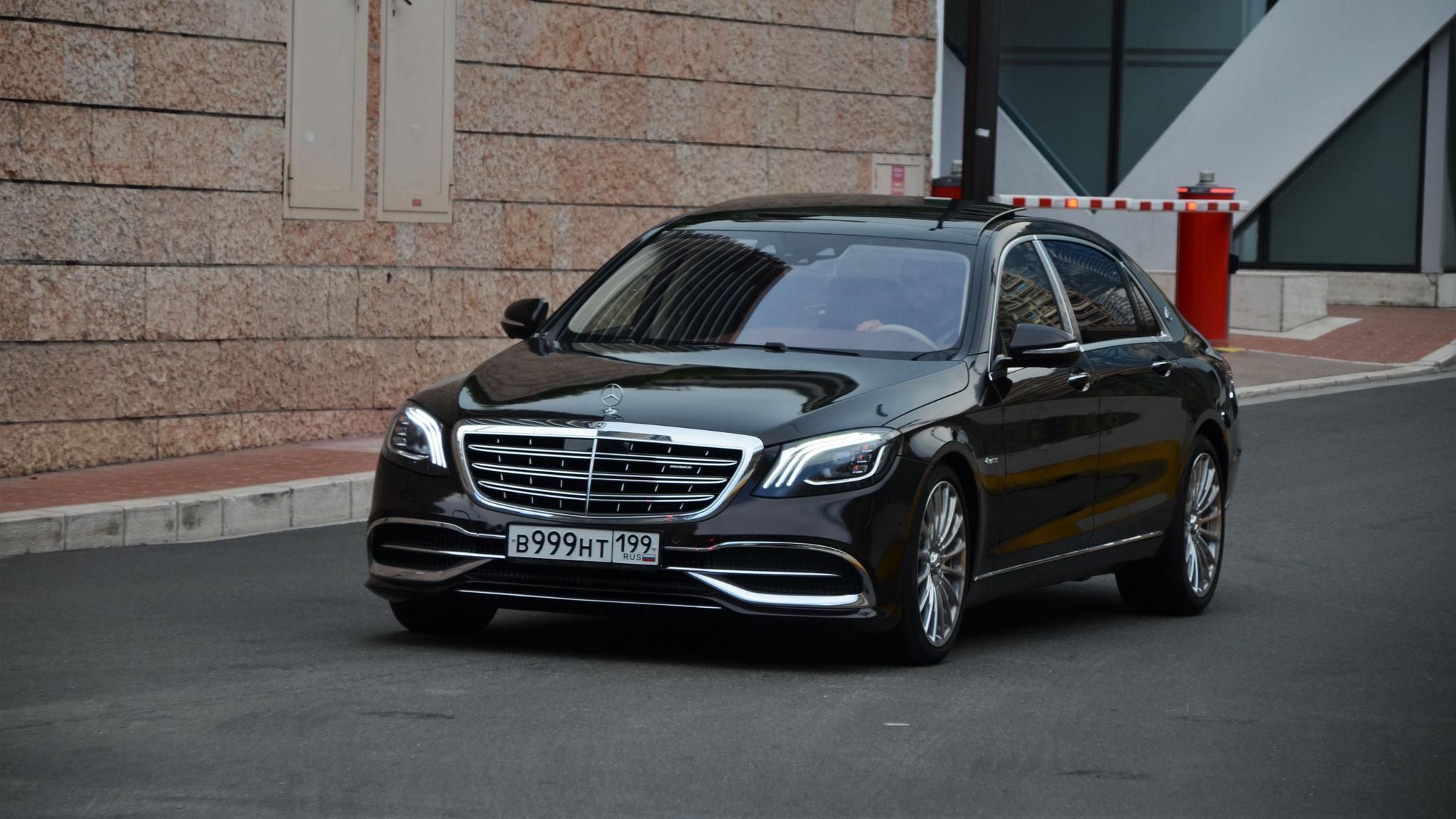 Mercedes Maybach S500 - B-999-HT-199 (RUS)