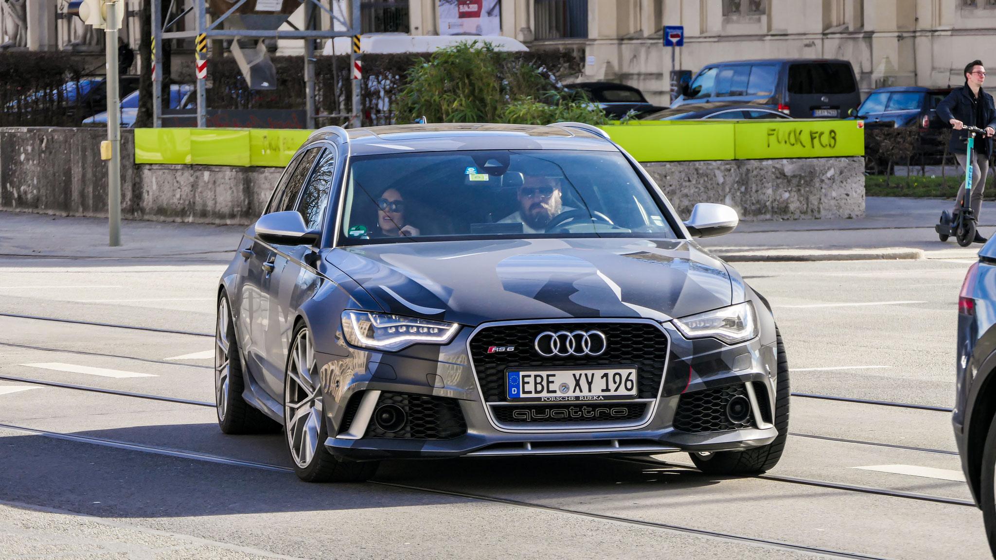 Audi RS6 - EBE-XY-196