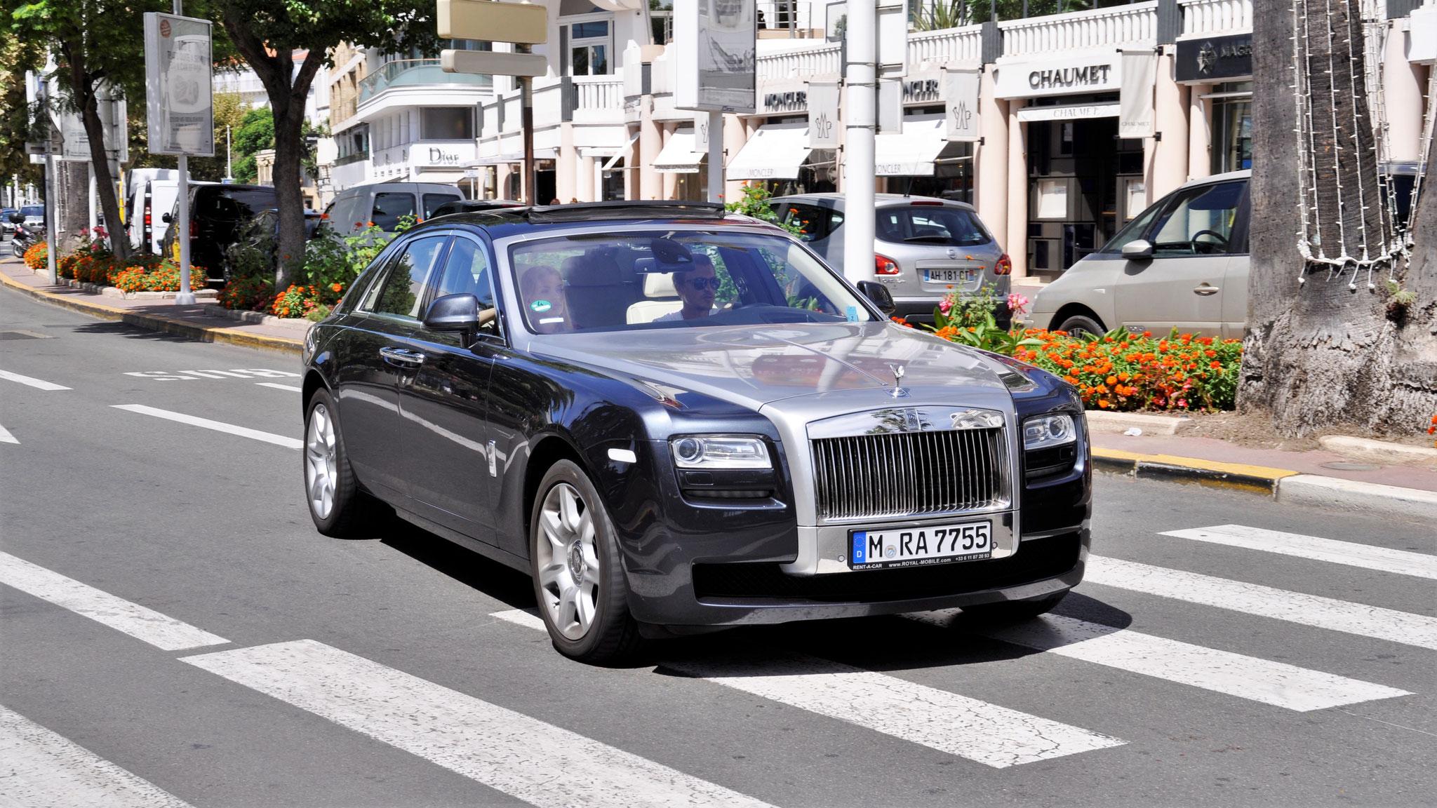 Rolls Royce Ghost - M-RA-7755