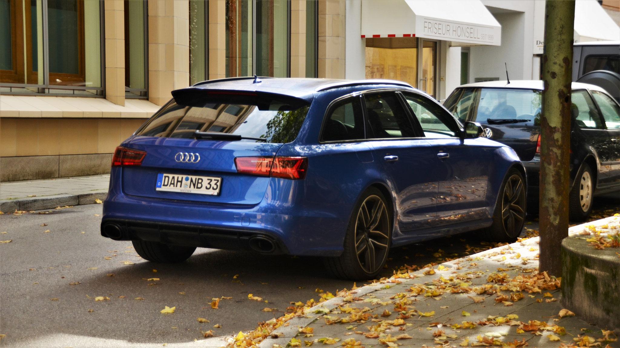 Audi RS6 - DAH-NB-33