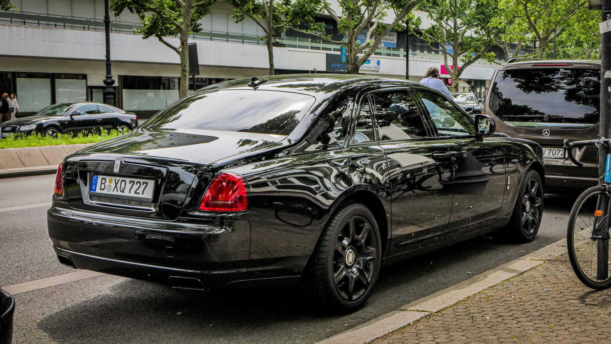 Rolls Royce Ghost - B-XQ-727