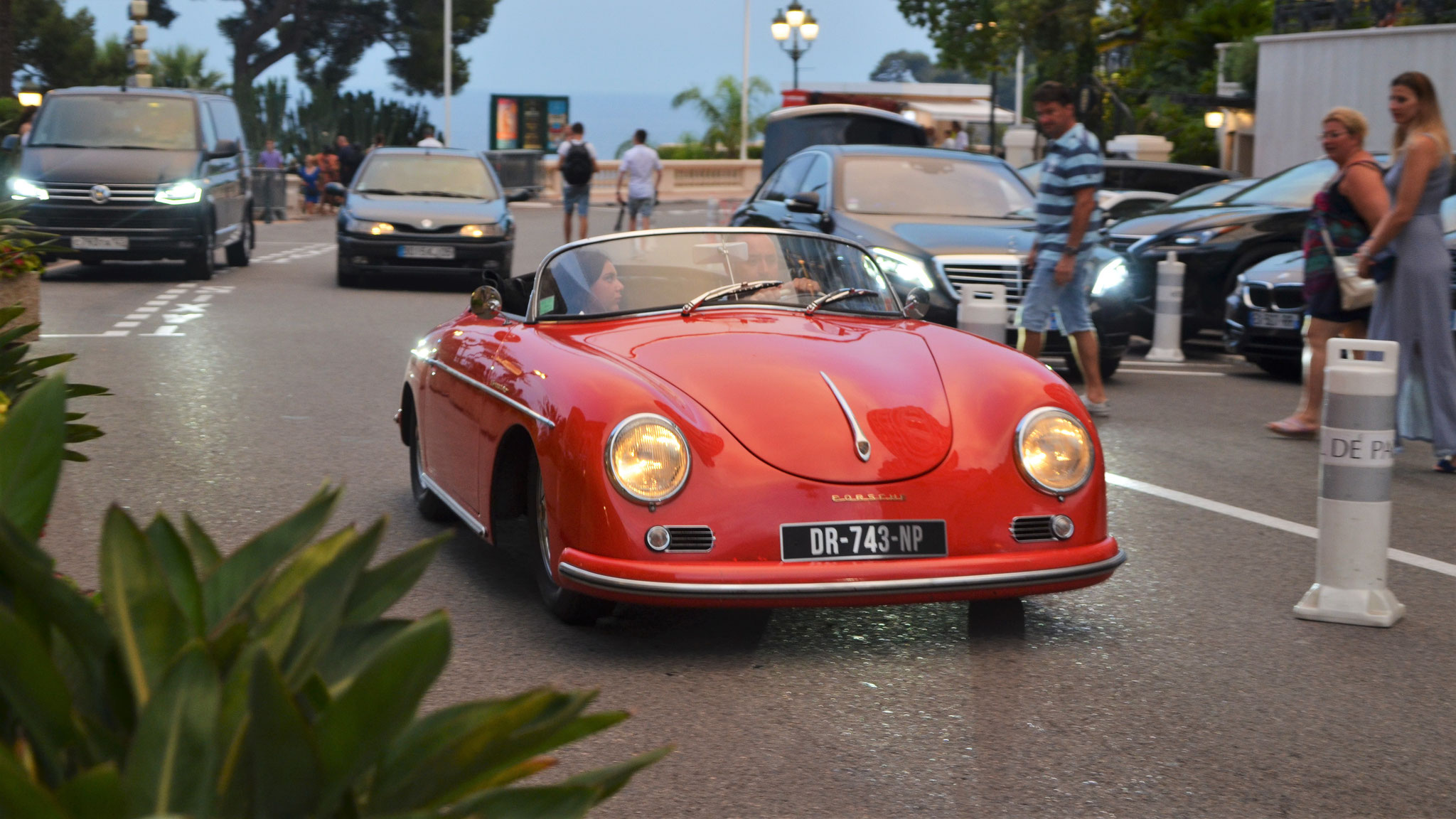Porsche 356 1500 Speedster - DR-743-NP (FRA)