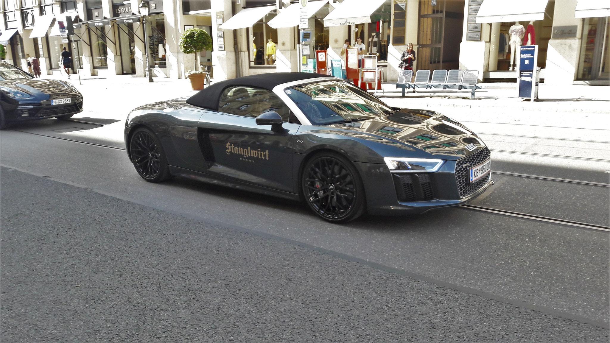 Audi R8 V10 Spyder - KB-950-DR (AUT)