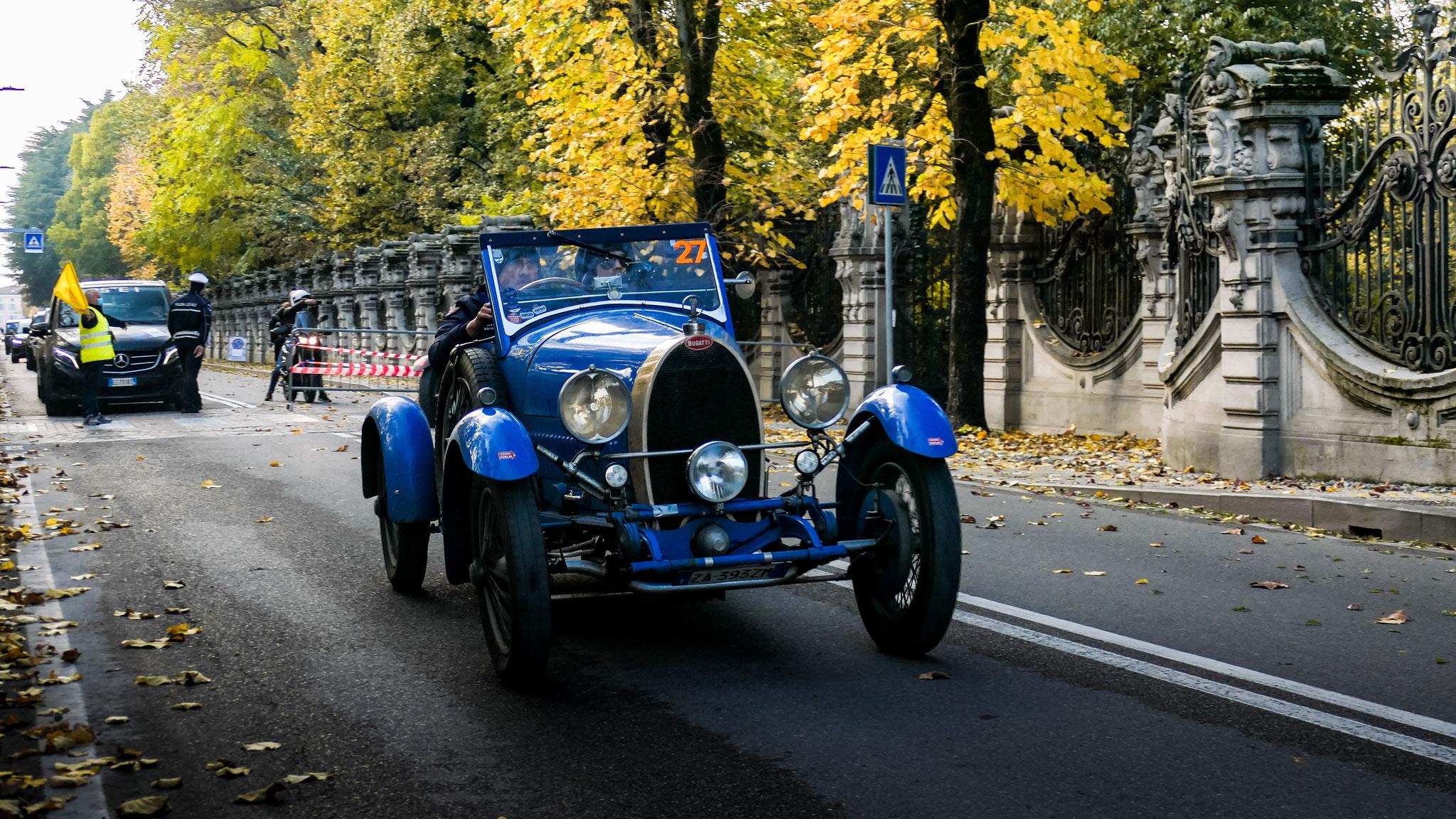 Bugatti Type 40 Grand Sport - ZA-393-ZM (ITA)
