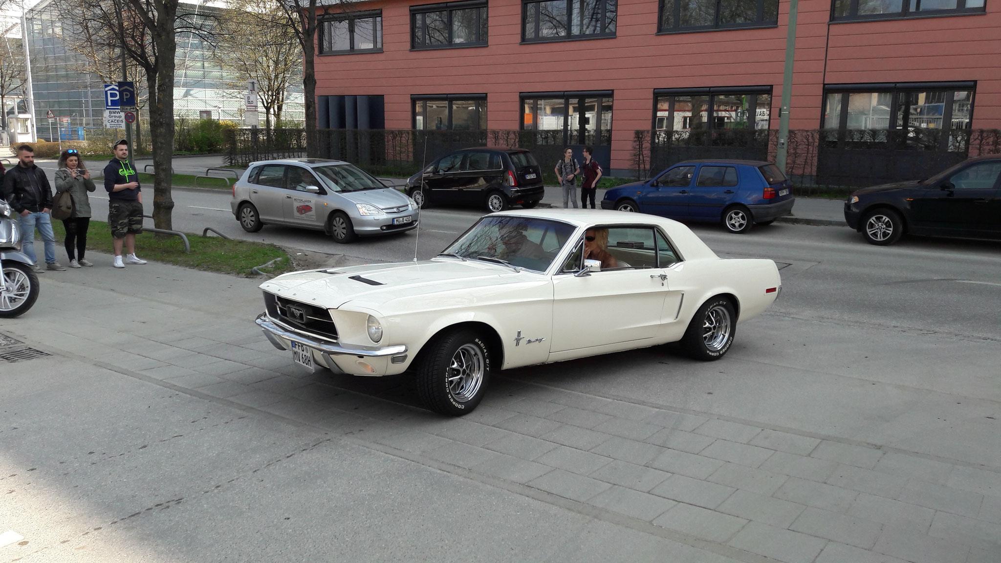 Mustang I - FFB-MV-68H