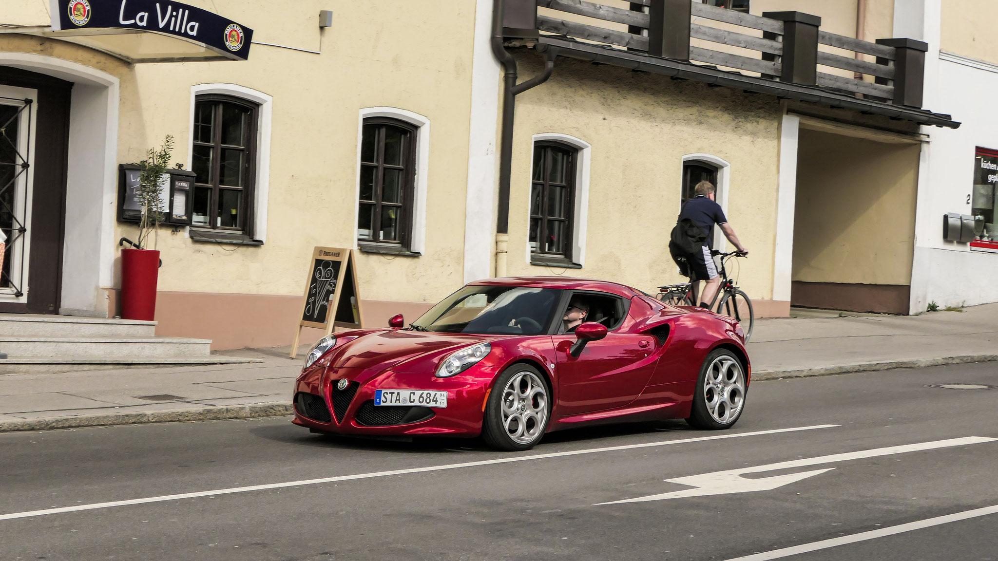 Alfa Romeo 4C - STA-C-684