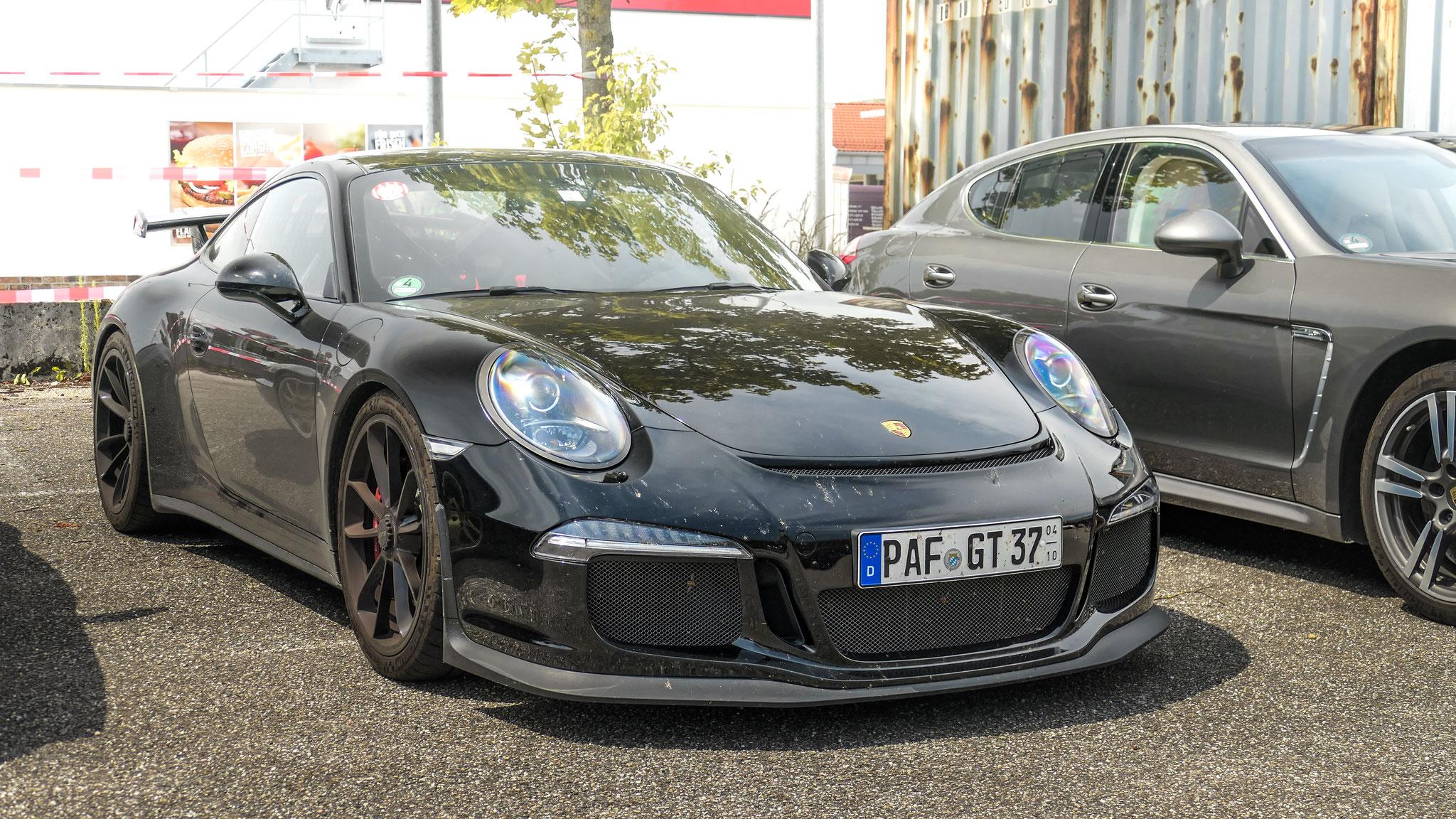 Porsche 991 GT3 - PAF-GT-37