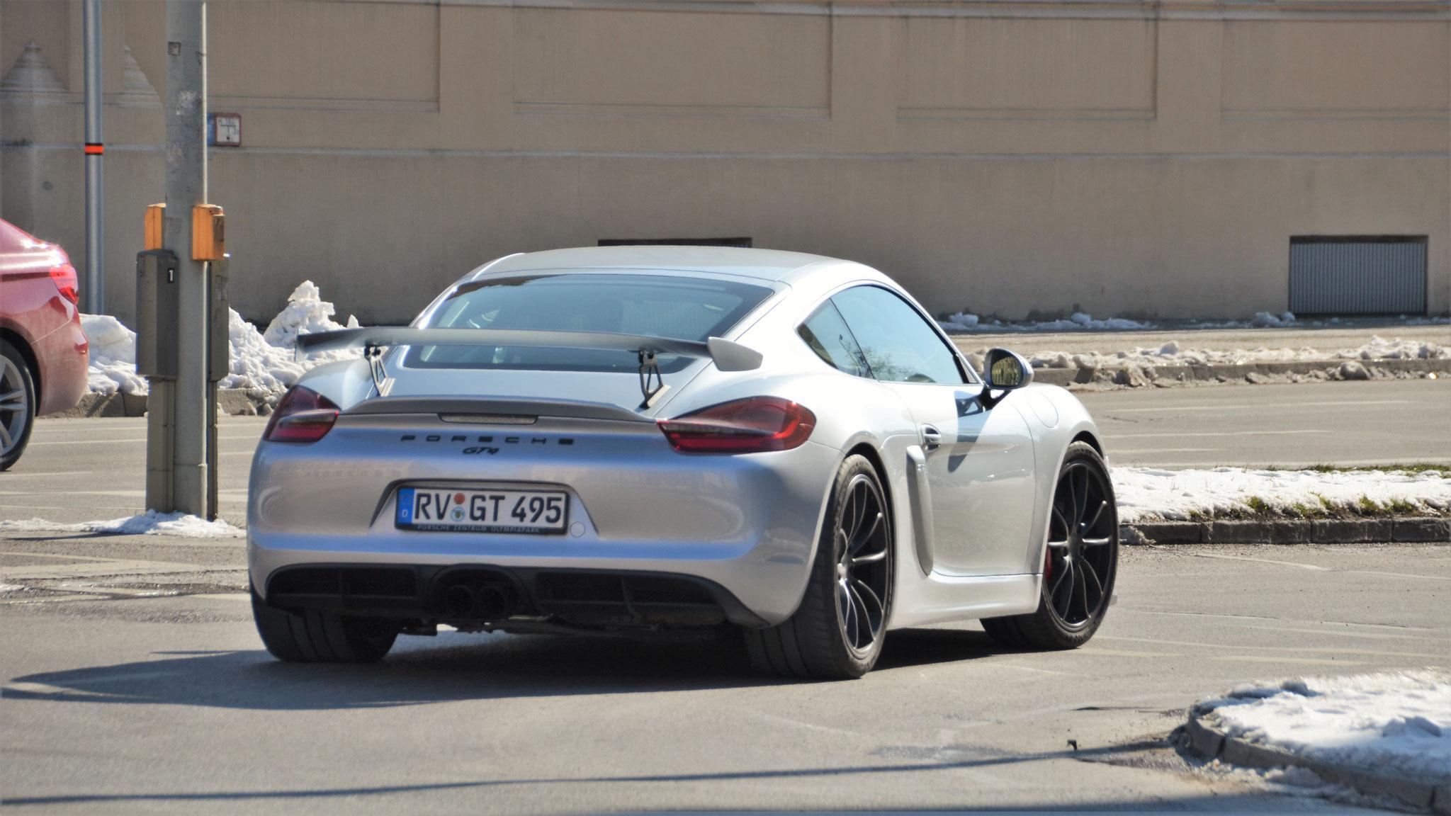 Porsche Cayman GT4 - RV-GT-495