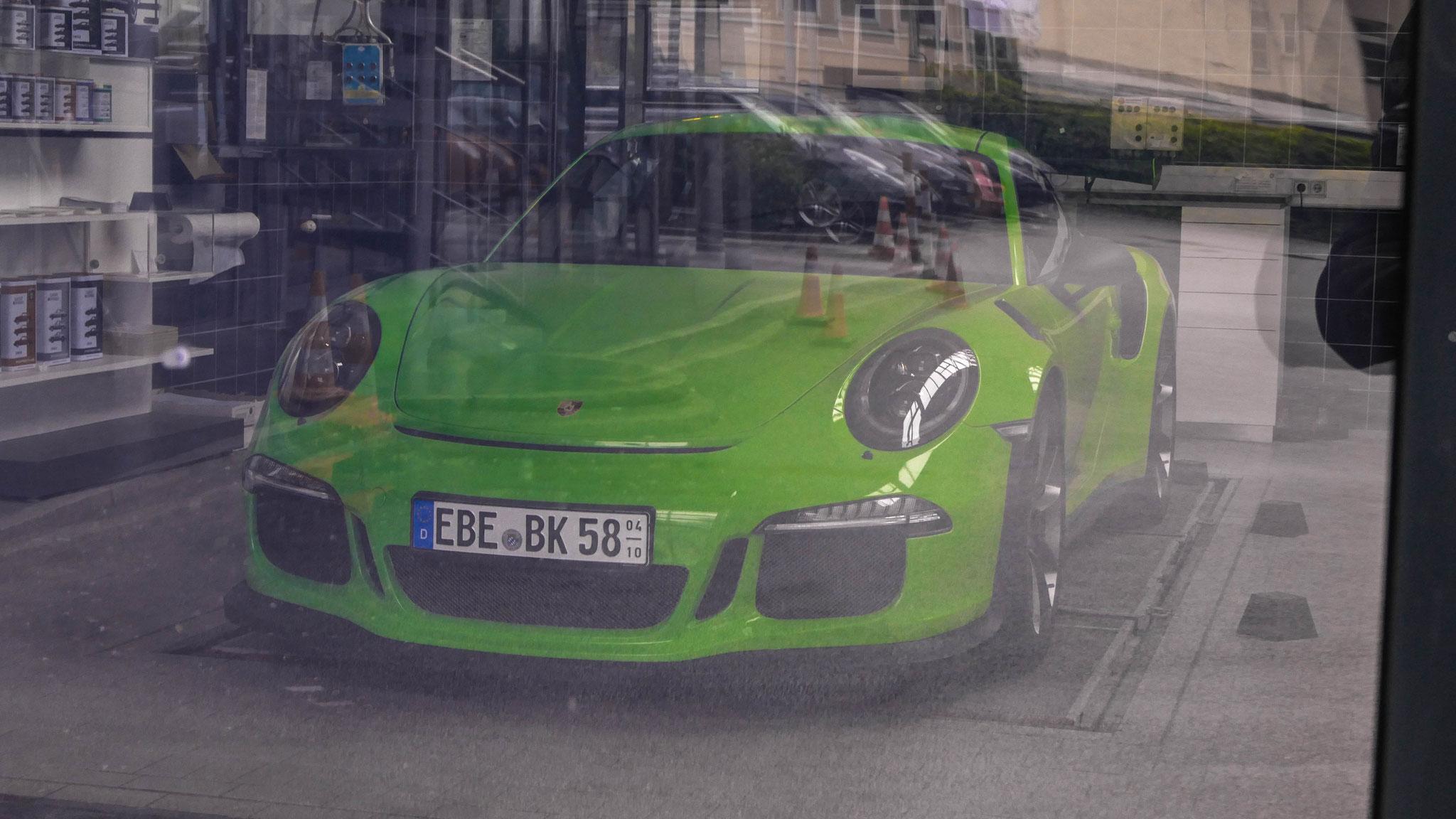 Porsche 911 GT3 RS - EBE-BK-58