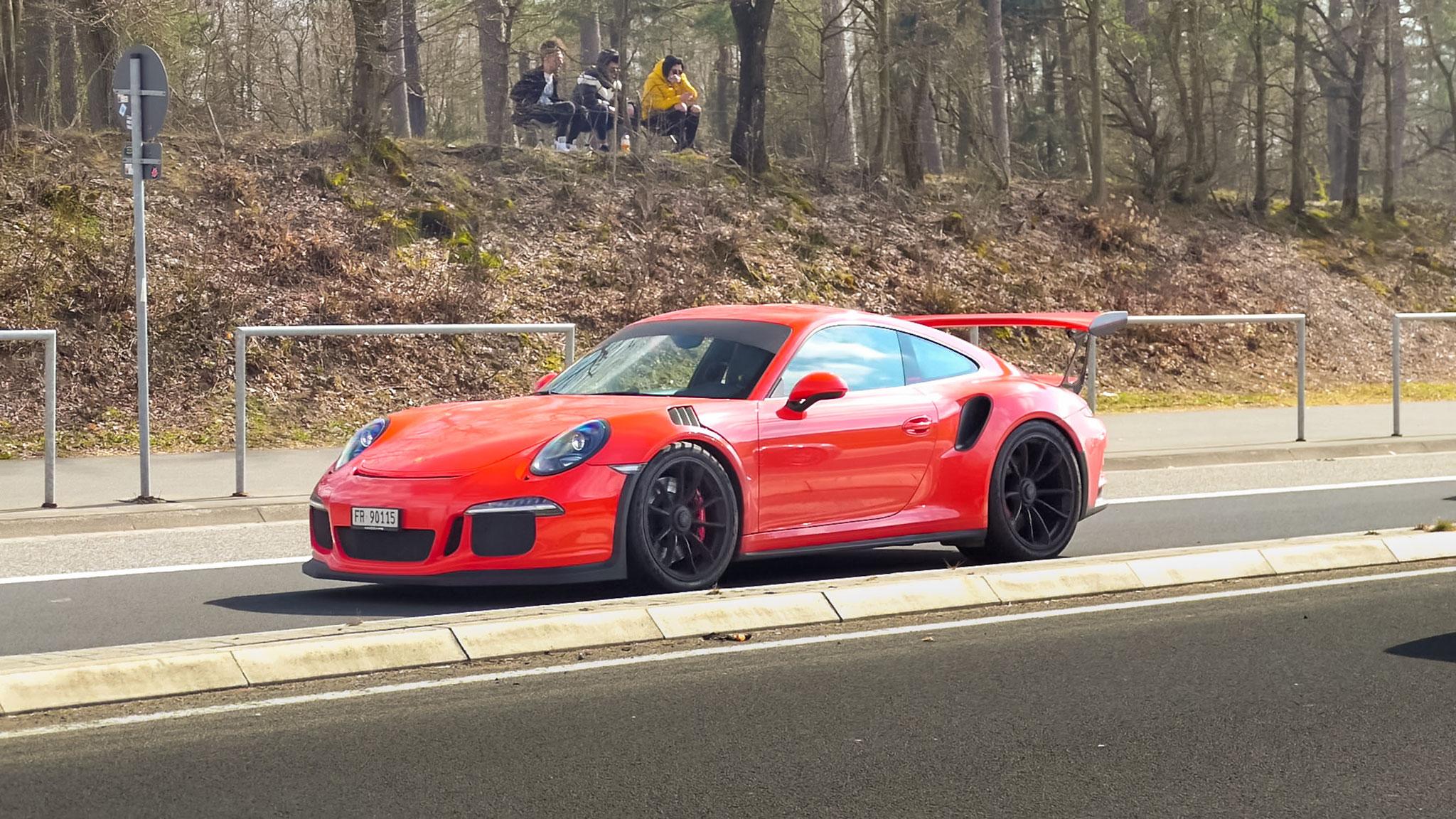 Porsche 911 GT3 RS - FR-90115 (CH)