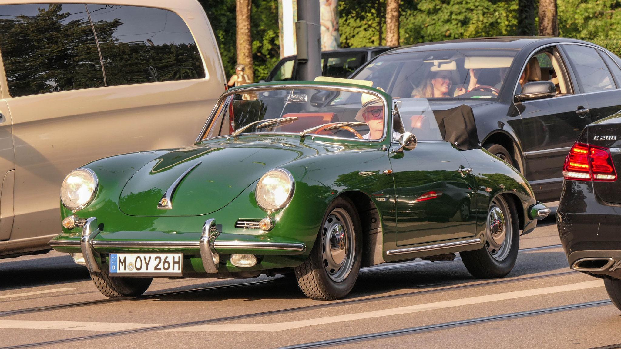 Porsche 356 1500 Speedster - M-OY-26H