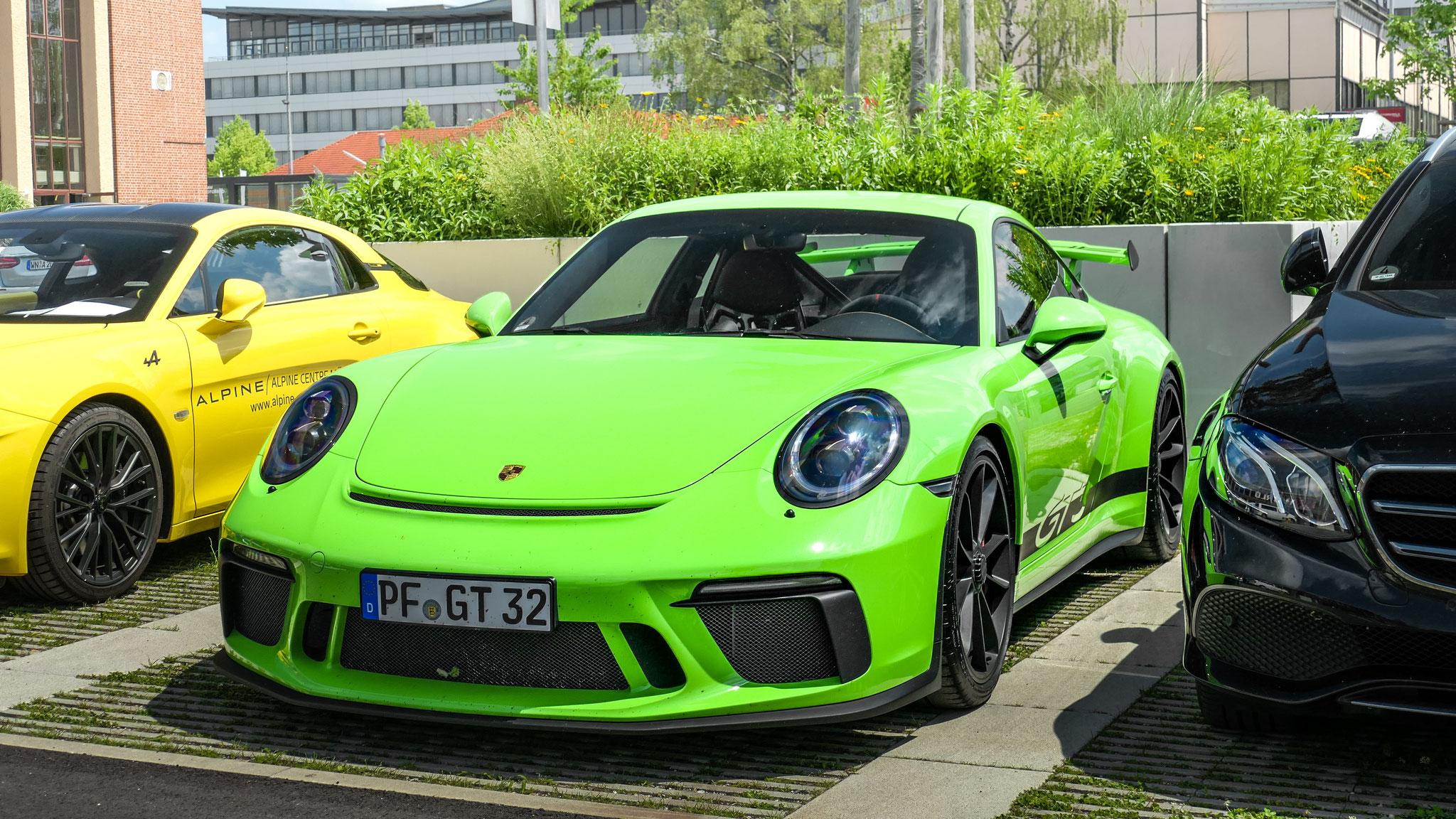 Porsche 991 GT3 - PF-GT-32