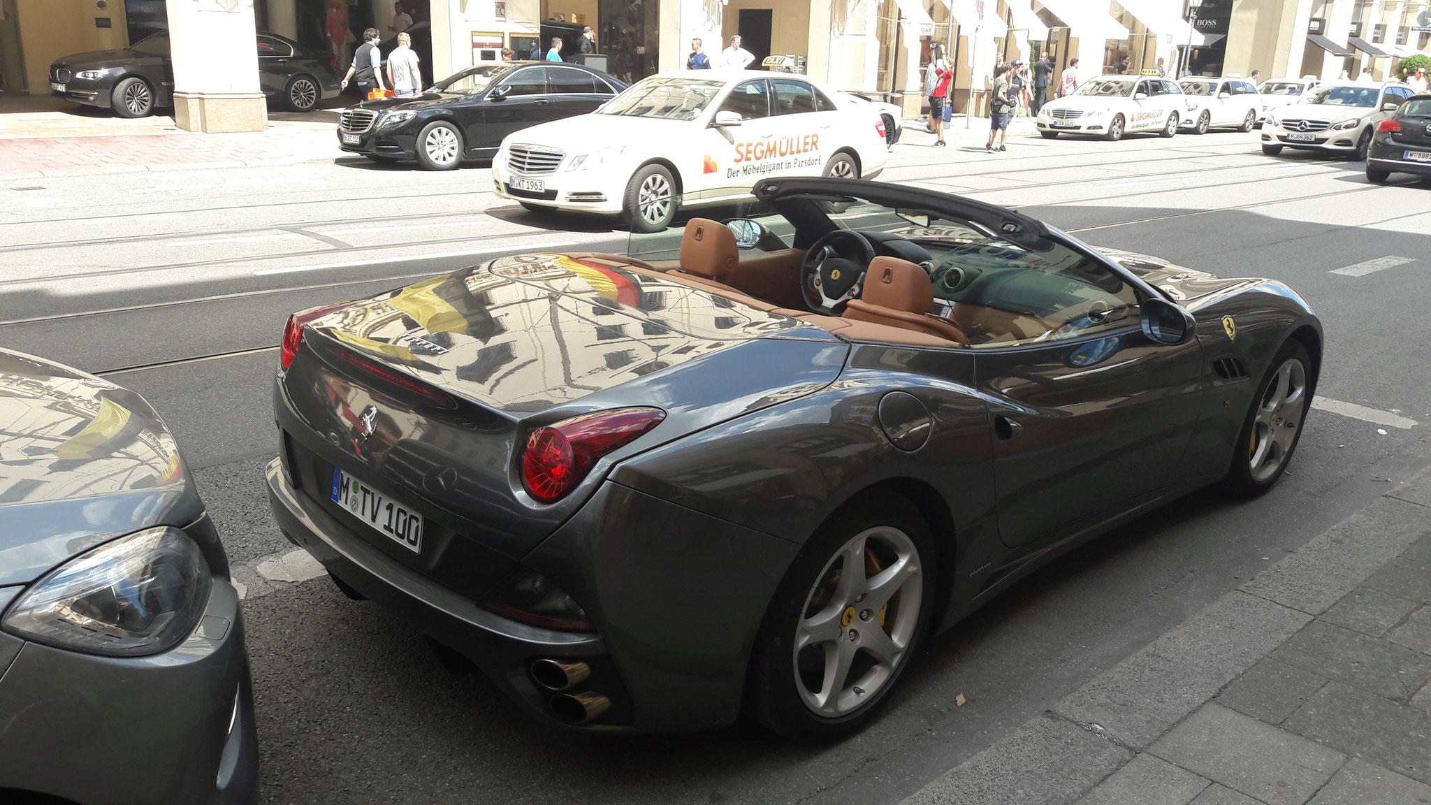 Ferrari California - M-TV-100