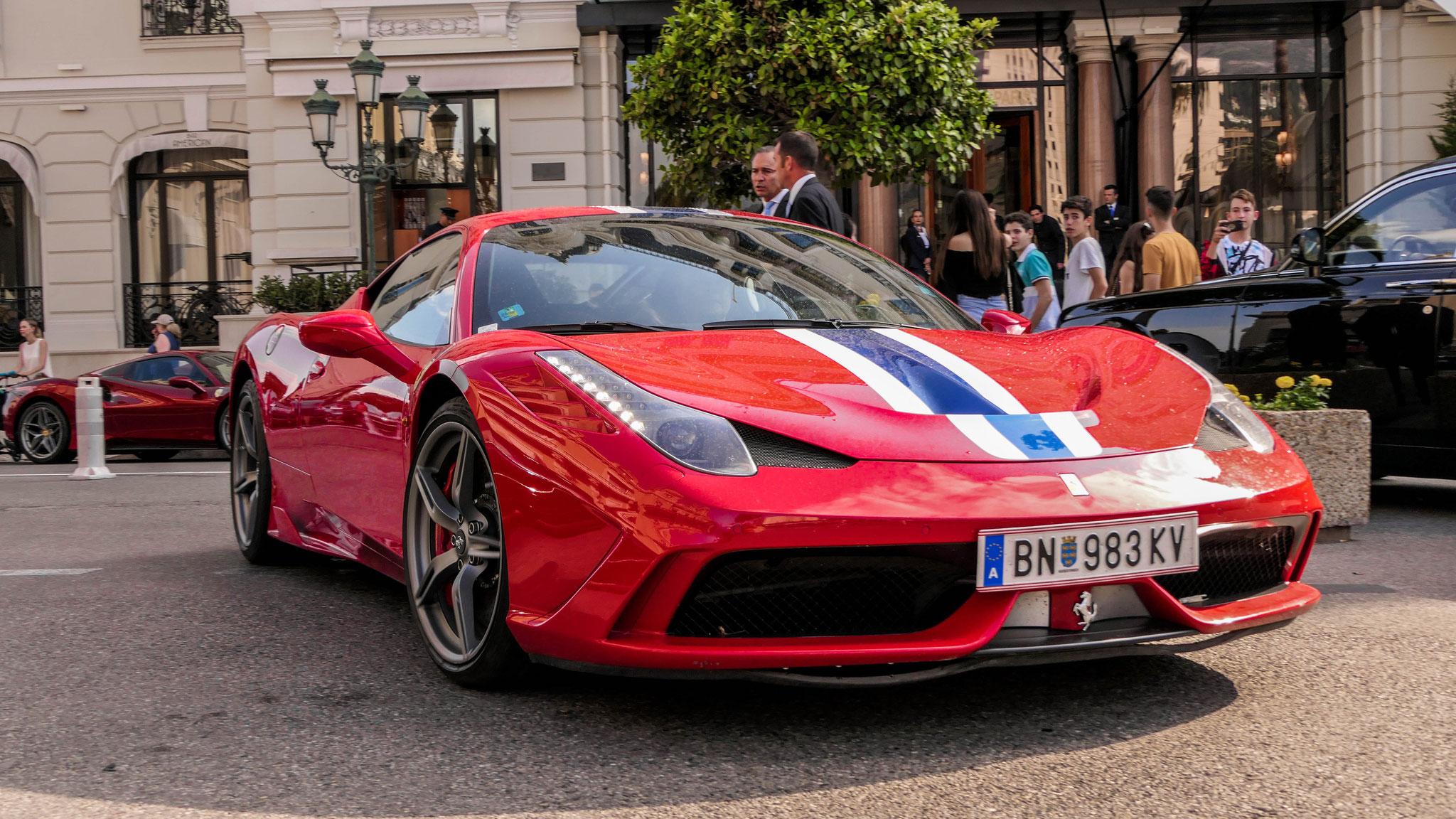 Ferrari 458 Speciale - BN-983-KV (AUT)