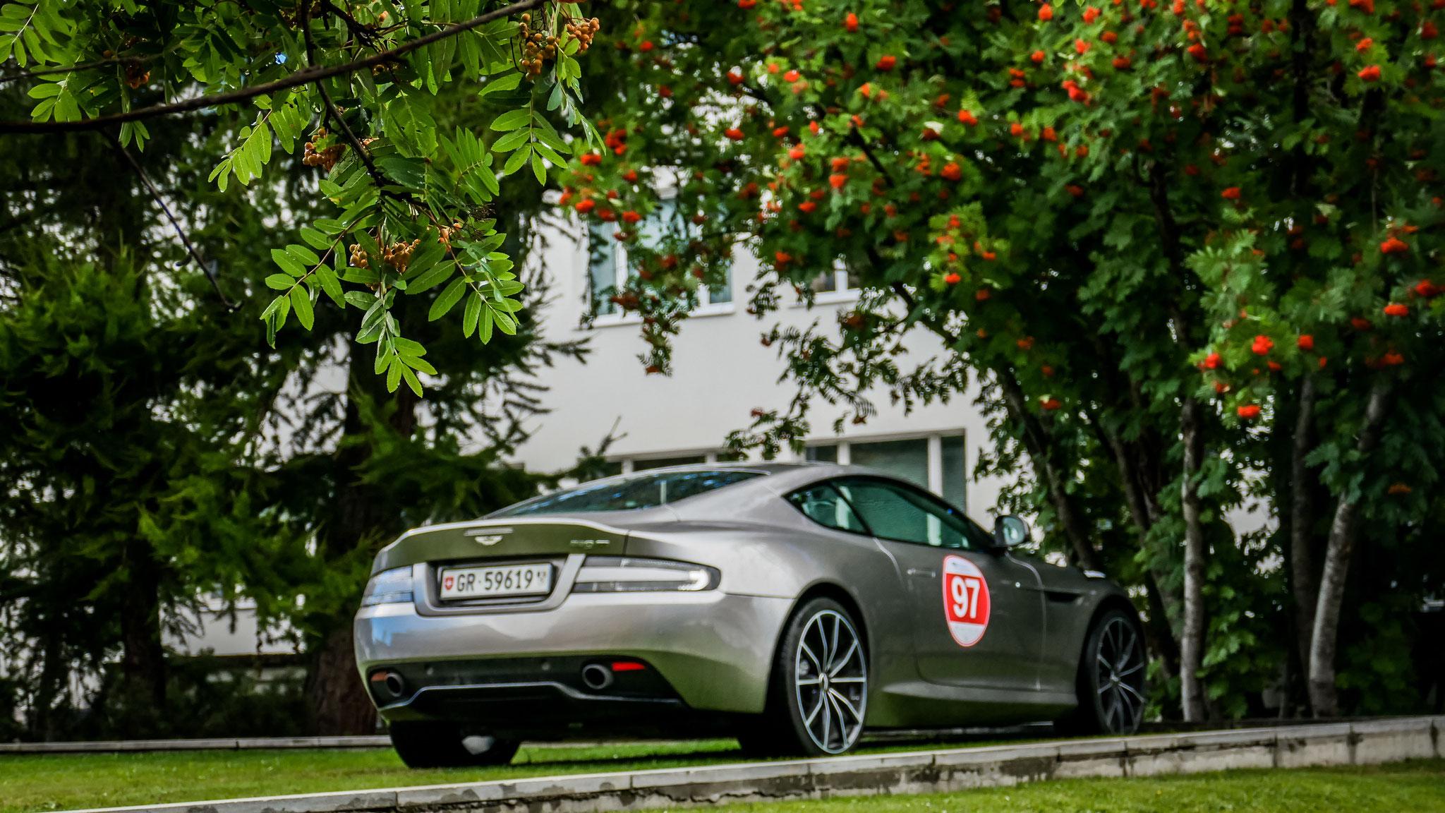 Aston Martin DB9 GT Coupé - GR-59619 (CH)
