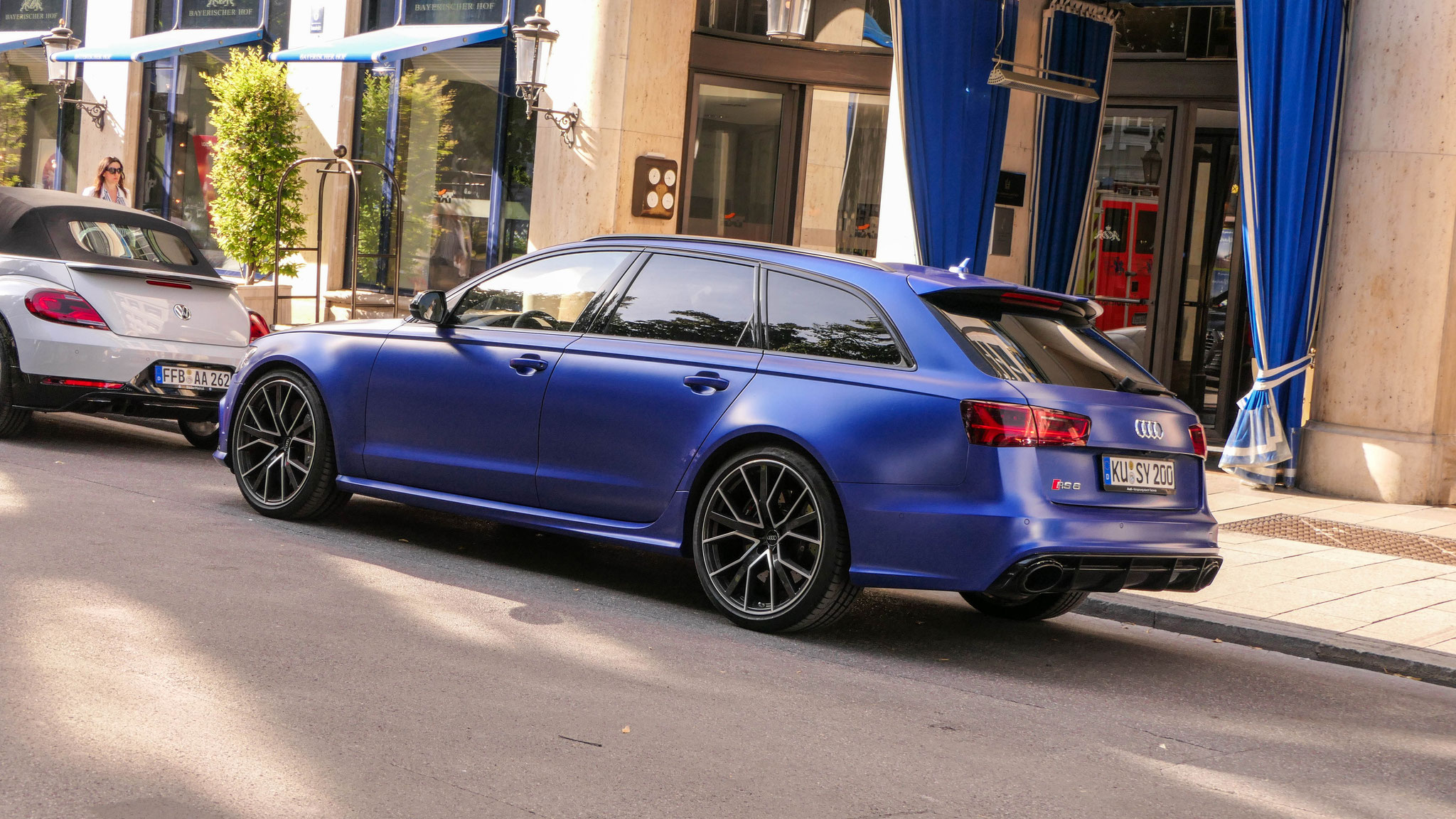 Audi RS6 - KÜ-SY-200