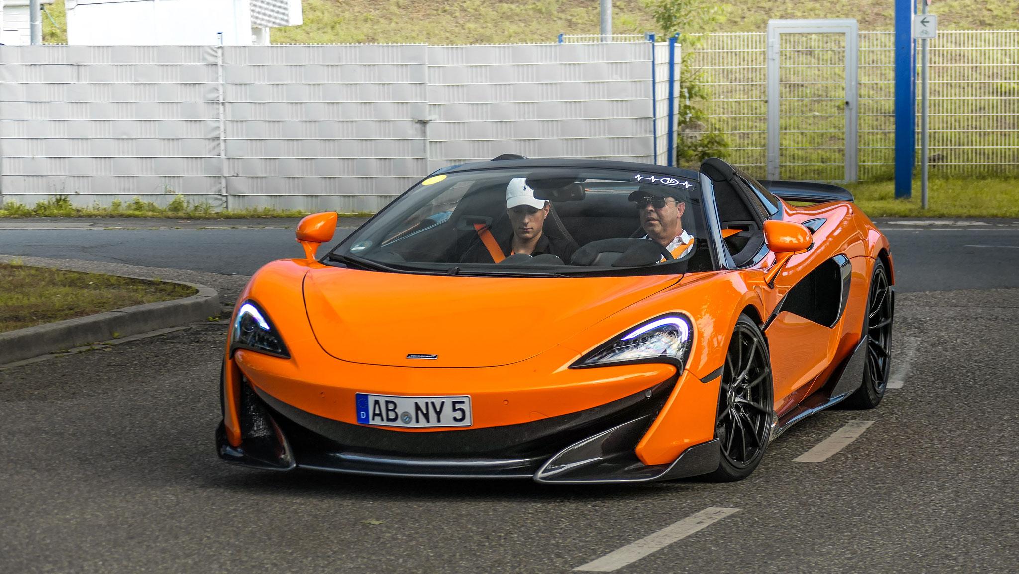 McLaren 600LT Spider - AB-NY-5