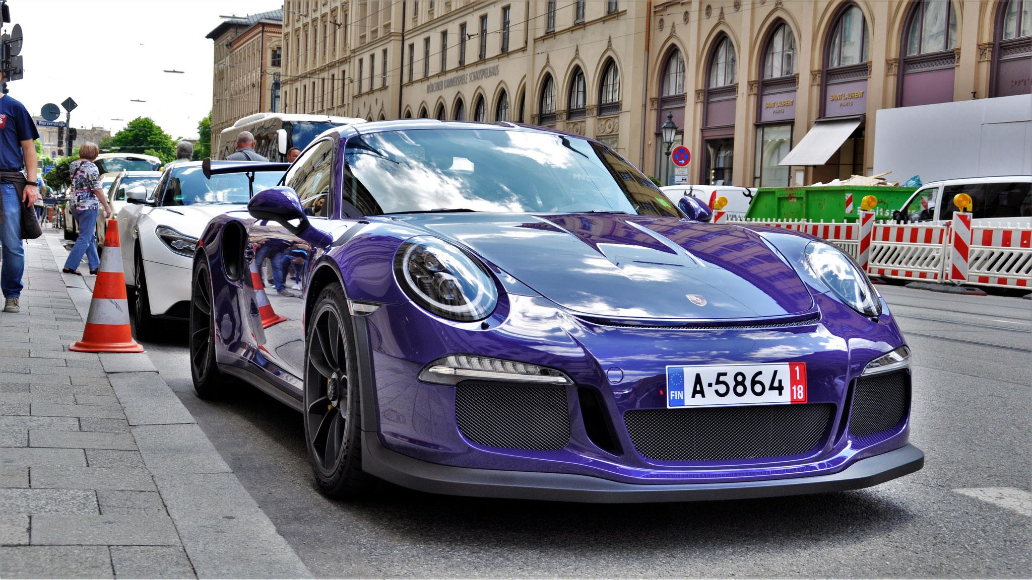 Porsche 911 GT3 RS - A-5864 (FIN)