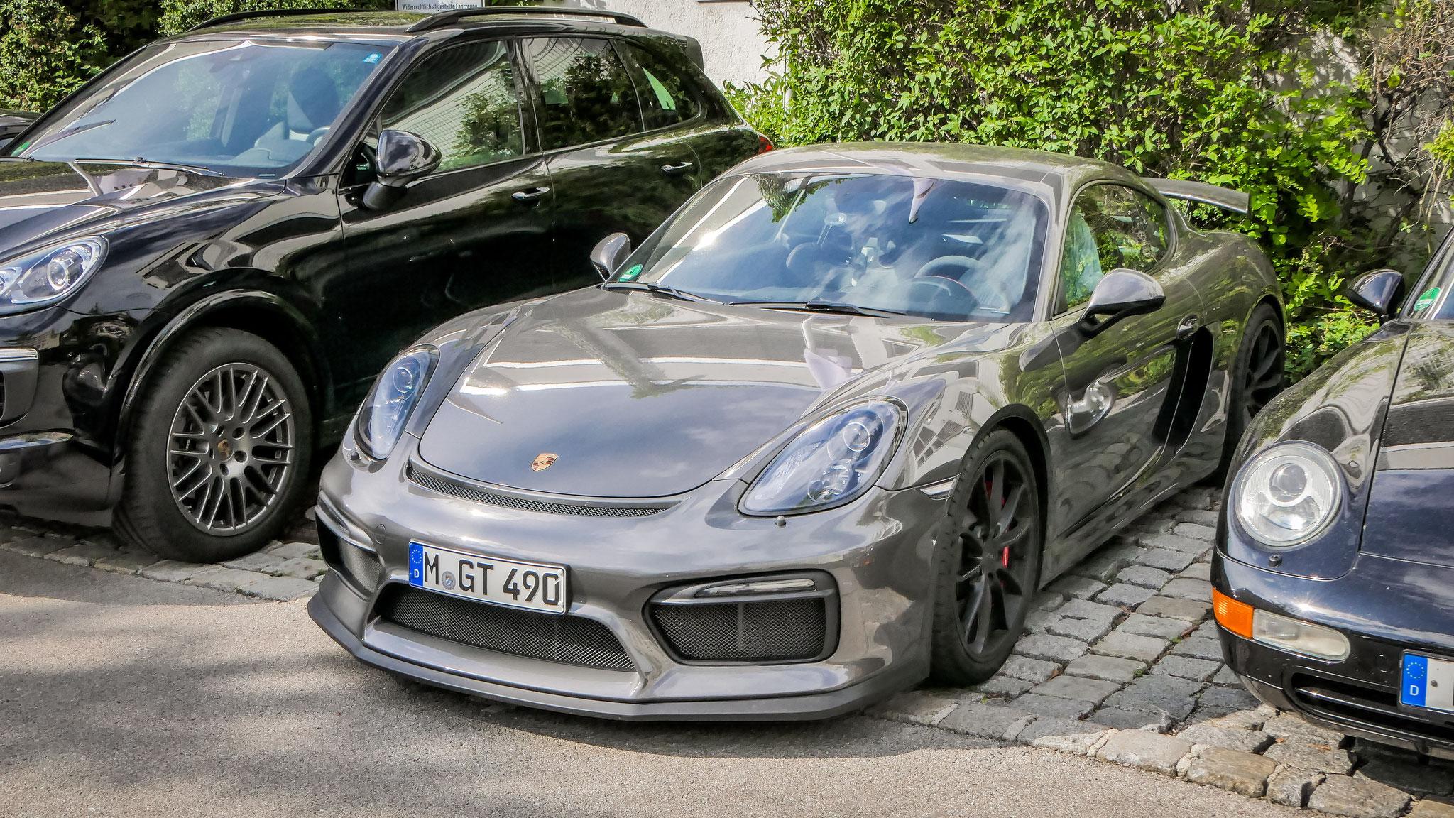 Porsche Cayman GT4 - M-GT-490