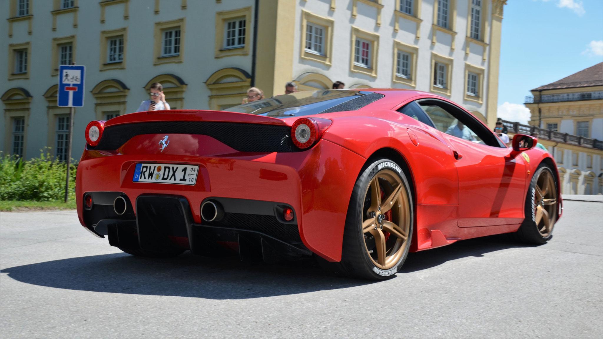 Ferrari 458 Speciale - RW-DX-1