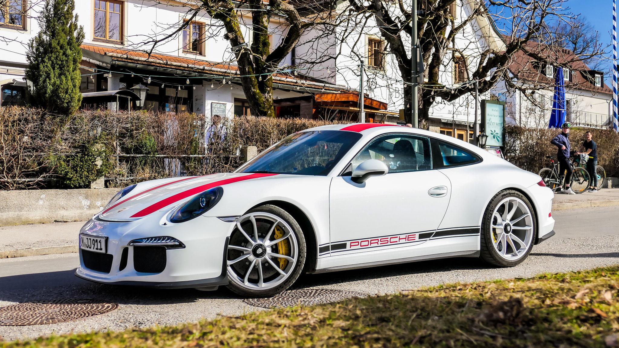 Porsche 911 R - M-JJ-911