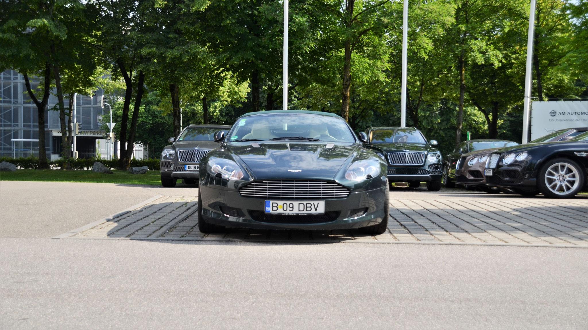 Aston Martin DB9 Volante - B-09-DBV (RO)