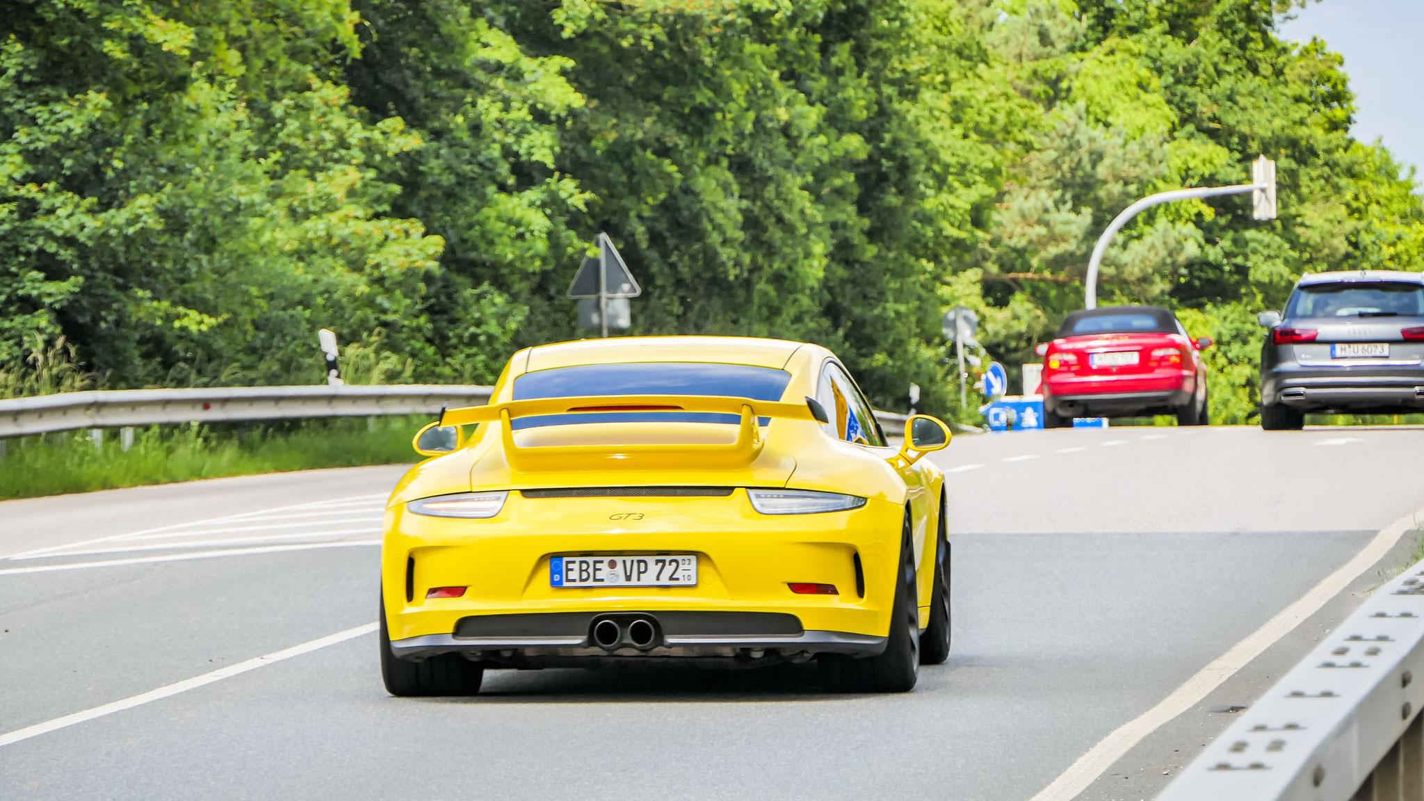Porsche 991 GT3 - EBE-VP-72