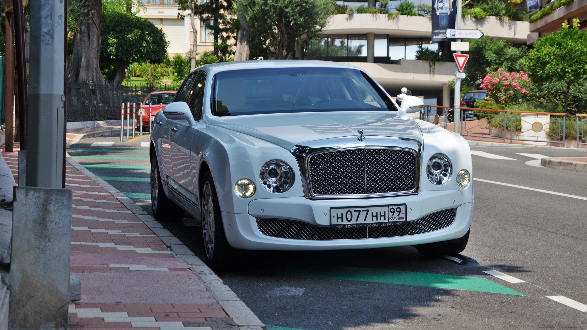 Bentley Mulsanne - H-077-HH-99 (RUS)