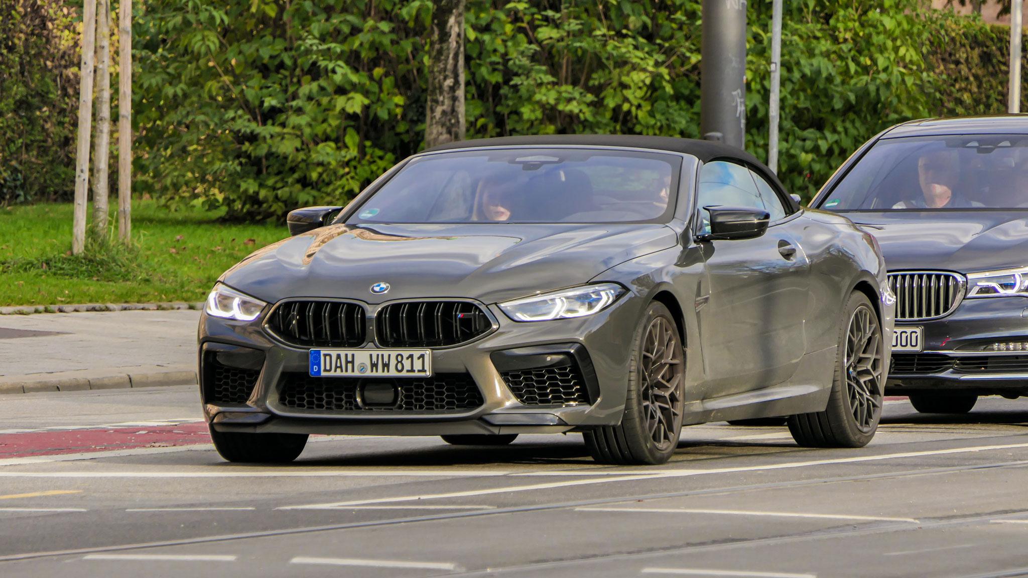 BMW M8 Competition Cabrio - DAH-WW-811
