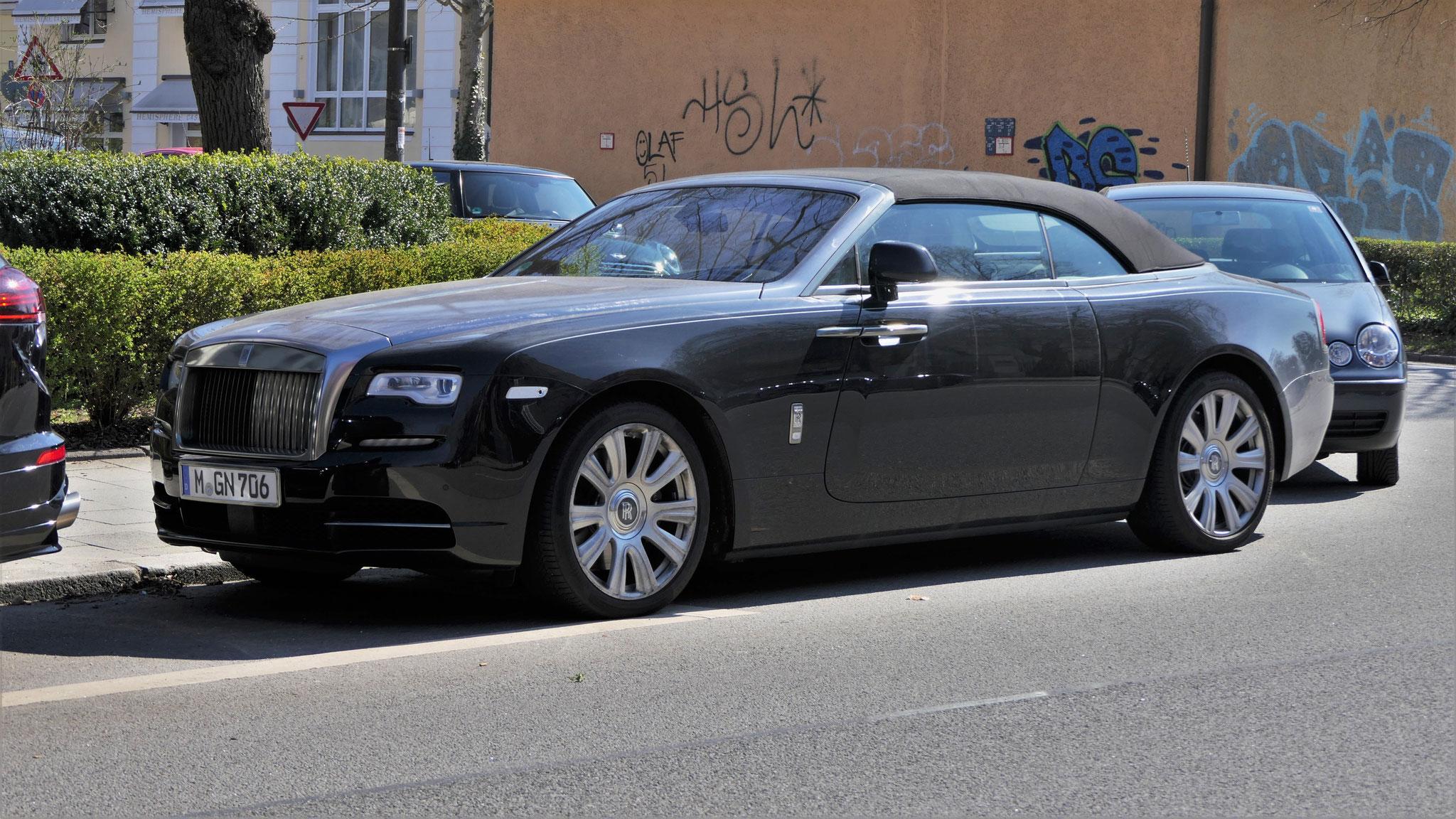 Rolls Royce Dawn - M-GN-706